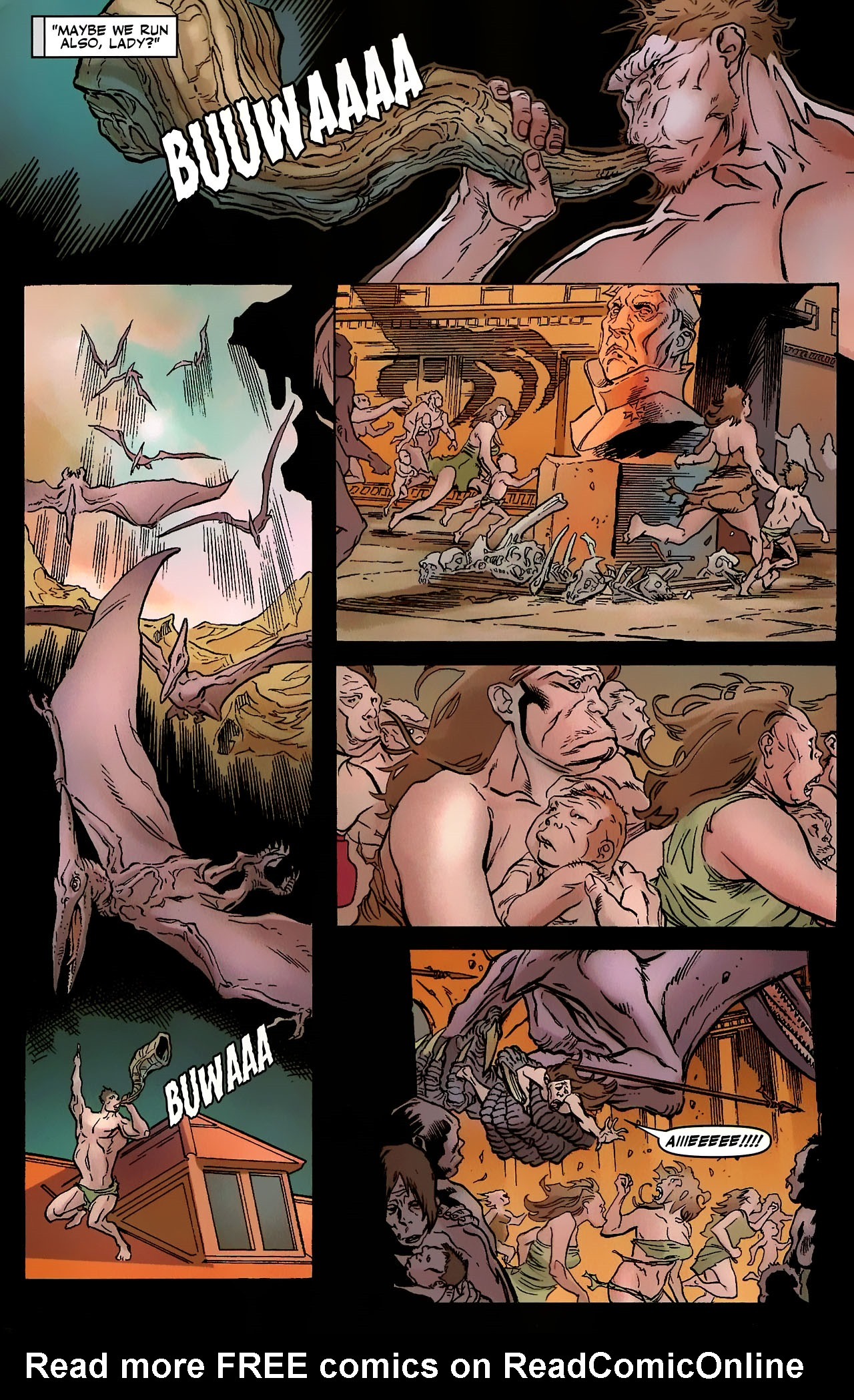 Read online Shanna the She-Devil: Survival of the Fittest comic -  Issue #3 - 10