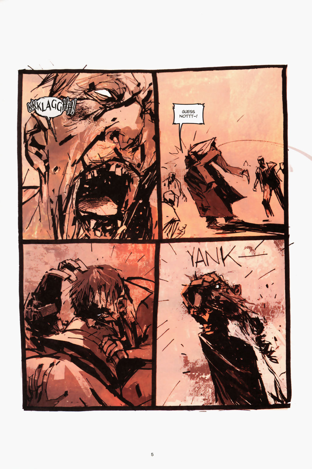 Zombies vs. Robots (2006) Issue #1 Page 7