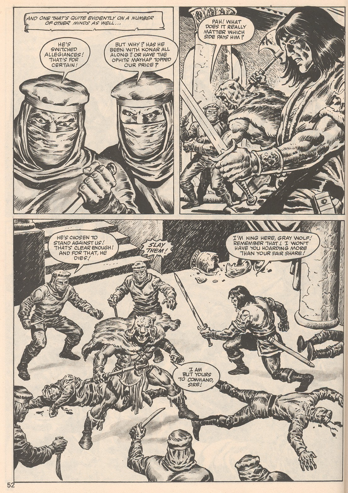 The Savage Sword Of Conan Issue #104 #105 - English 52
