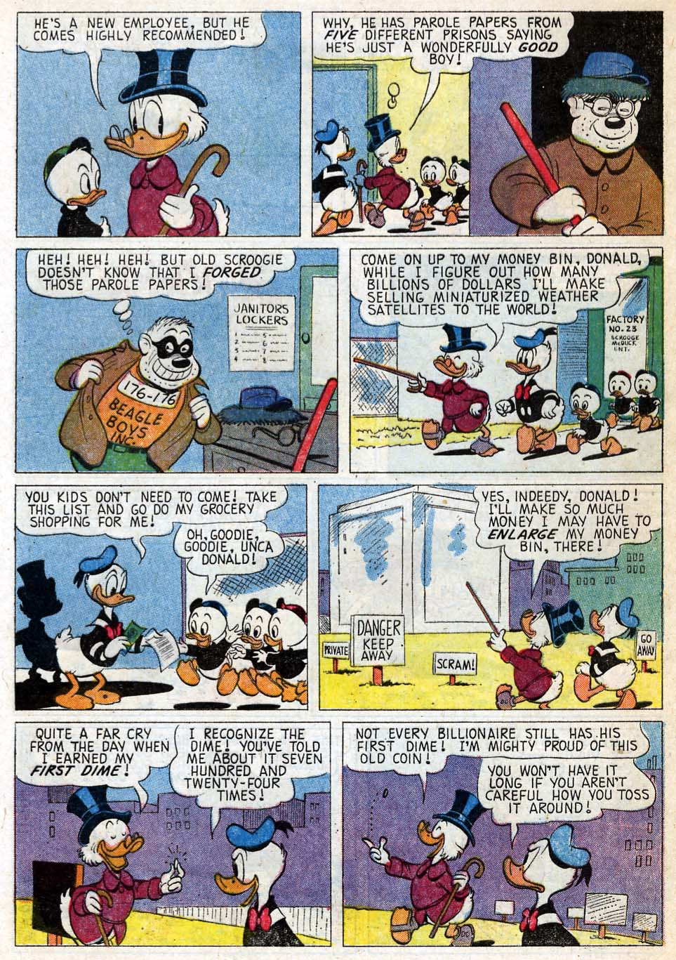 Uncle Scrooge (1953) Issue #33 #33 - English 5