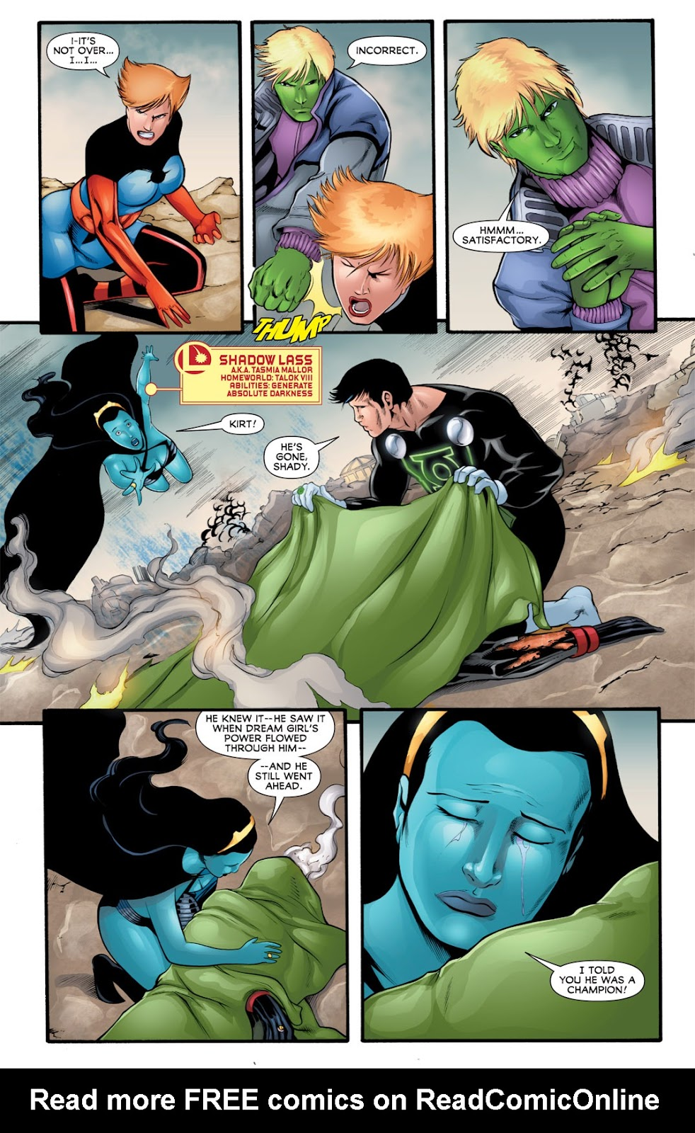 Legion of Super-Heroes (2010) Issue #16 #17 - English 16