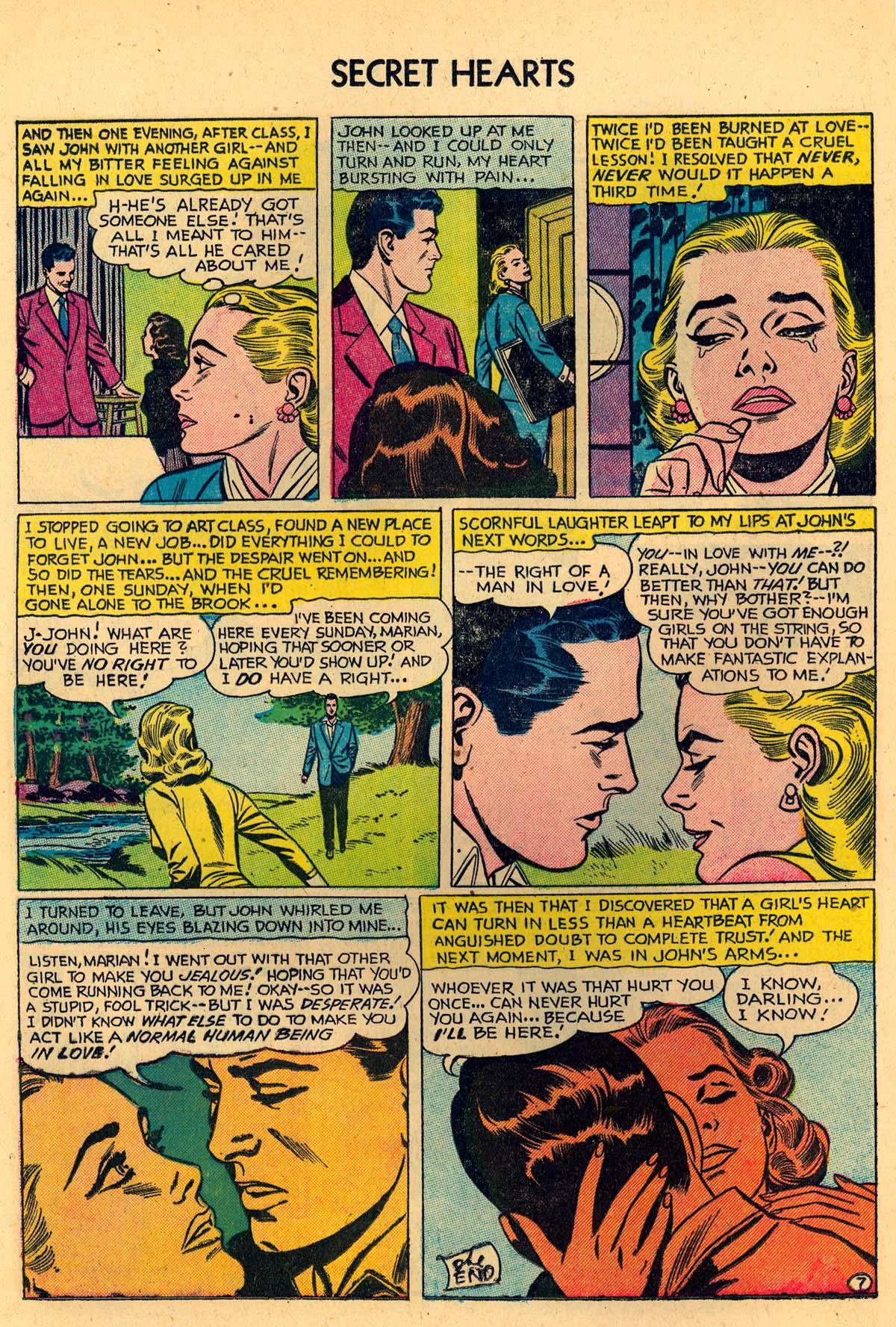 Read online Secret Hearts comic -  Issue #35 - 24