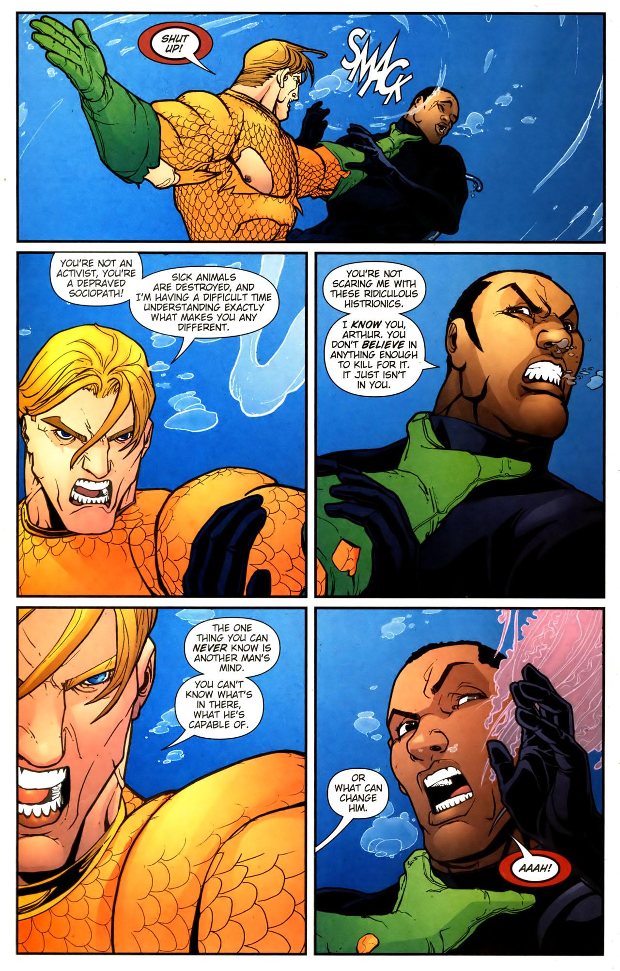 Read online Aquaman (2003) comic -  Issue #39 - 21
