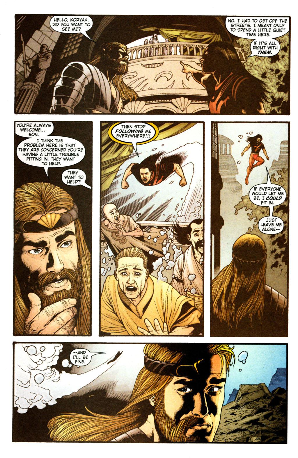 Read online Aquaman (2003) comic -  Issue #38 - 11