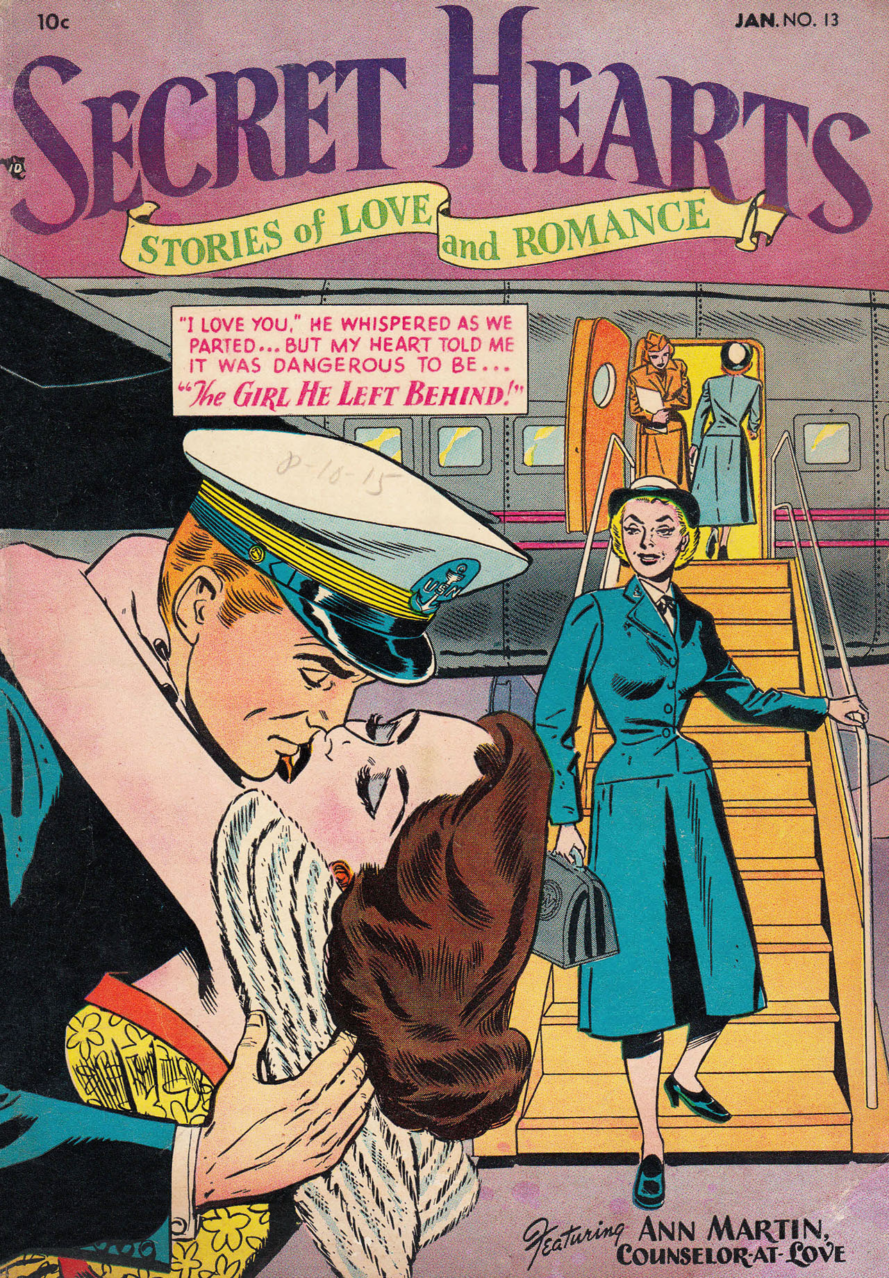 Read online Secret Hearts comic -  Issue #13 - 1