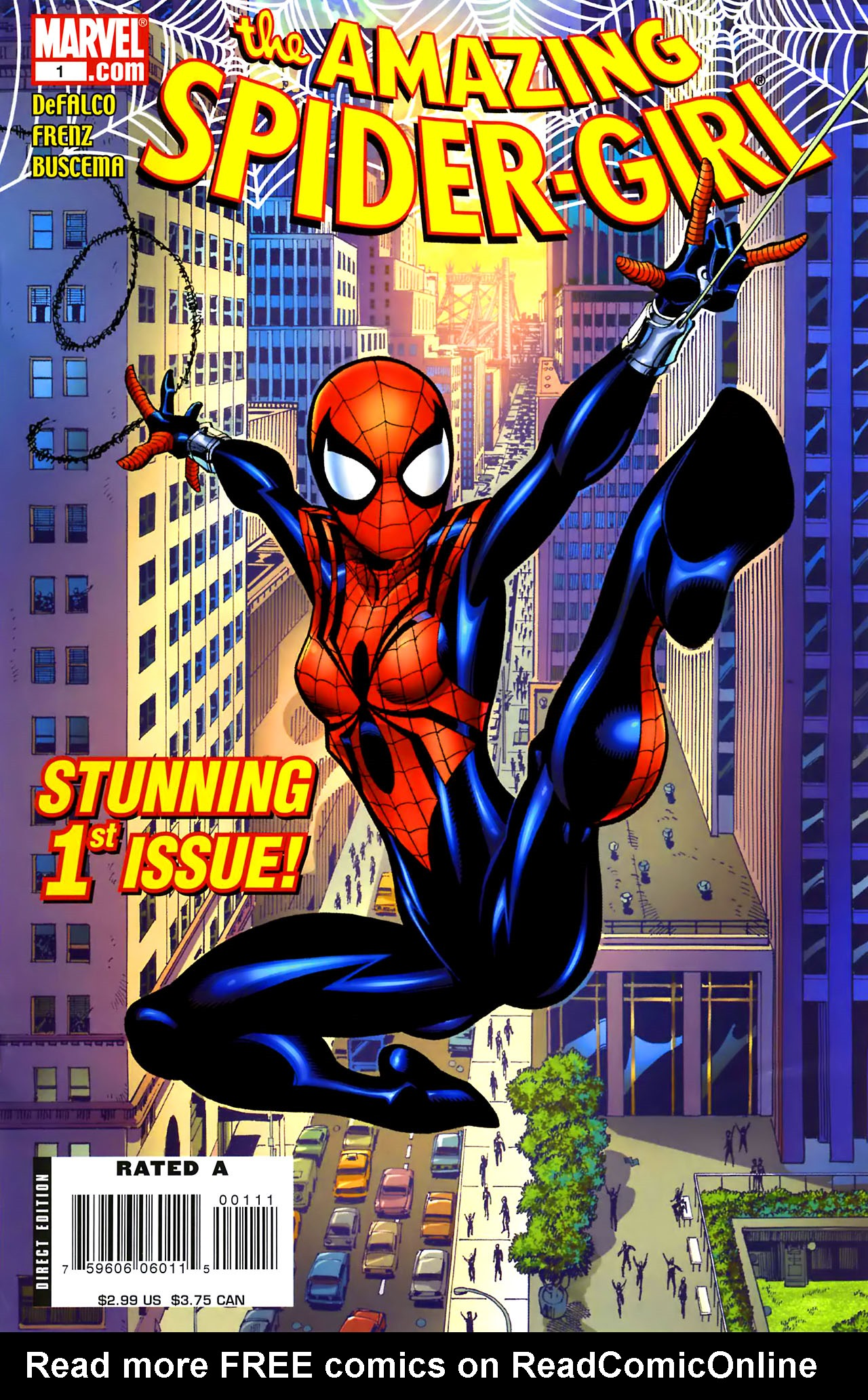 Amazing Spider-Girl 1 Page 1