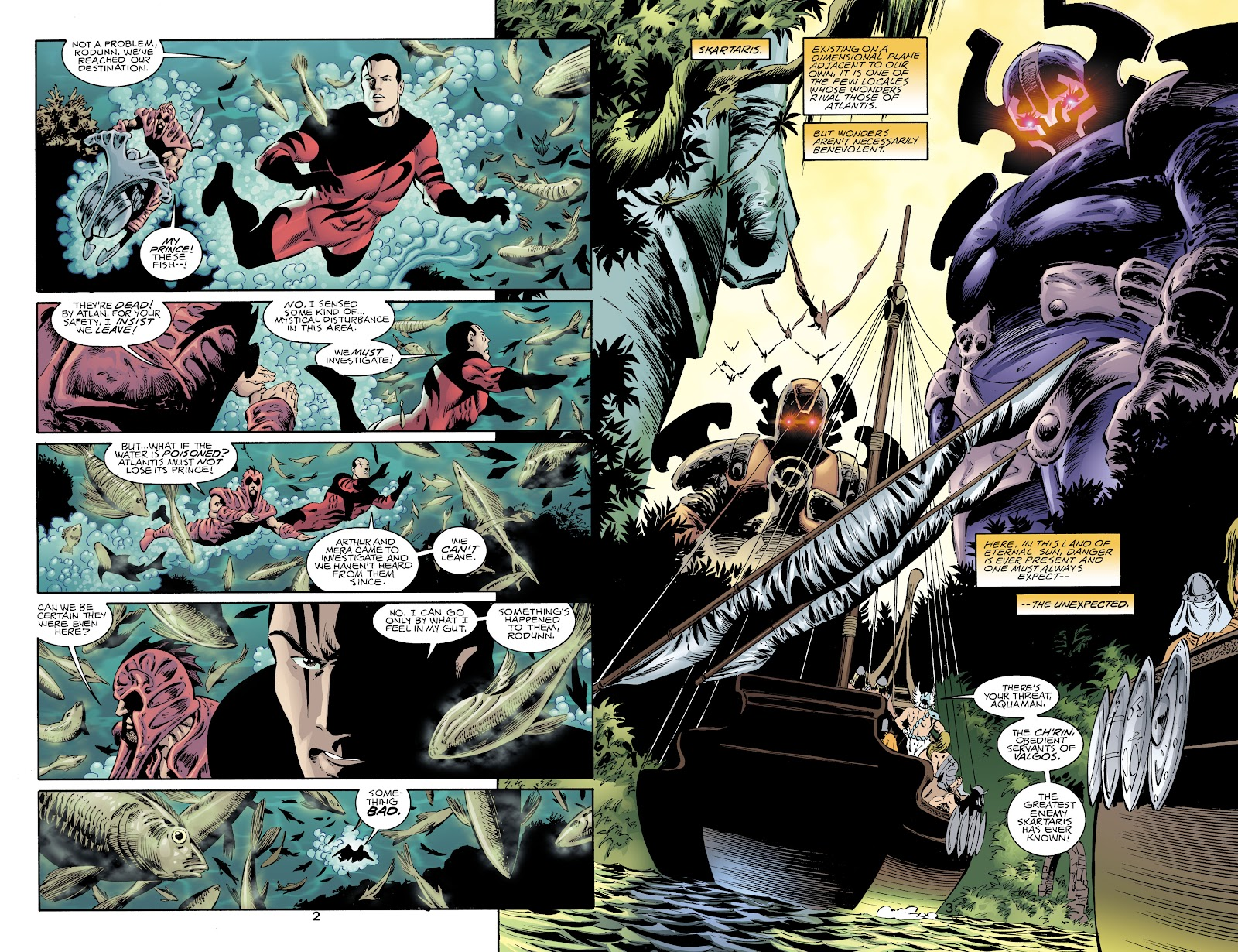 Aquaman (1994) Issue #72 #78 - English 3