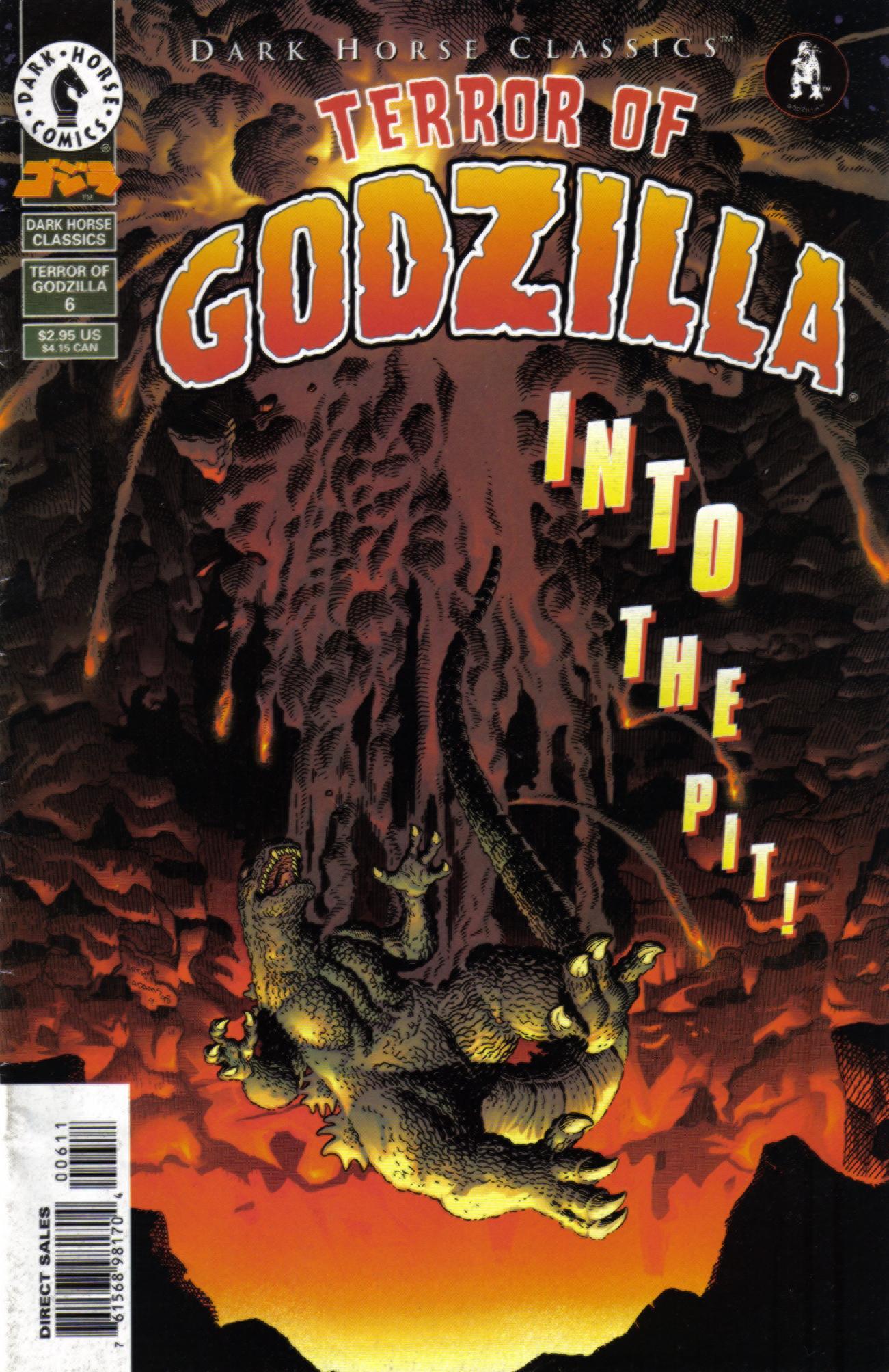 Dark Horse Classics: Terror of Godzilla 6 Page 1