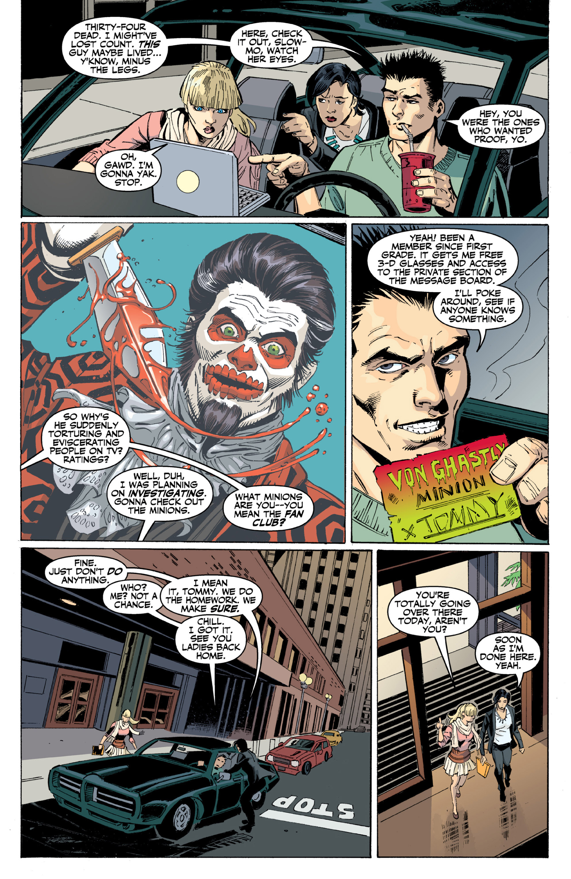 Read online Ghost (2013) comic -  Issue # TPB 2 - 20