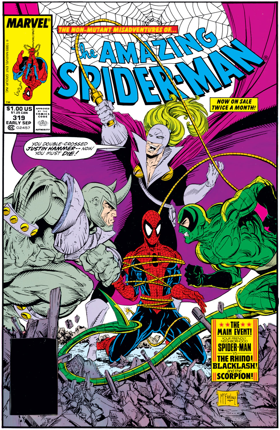 The Amazing Spider-Man (1963) 319 Page 1