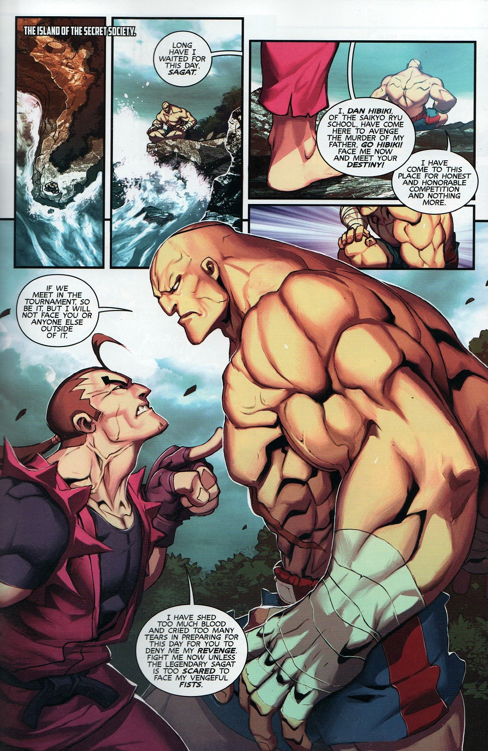 Street Fighter Unlimited Issue #8 #10 - English 21