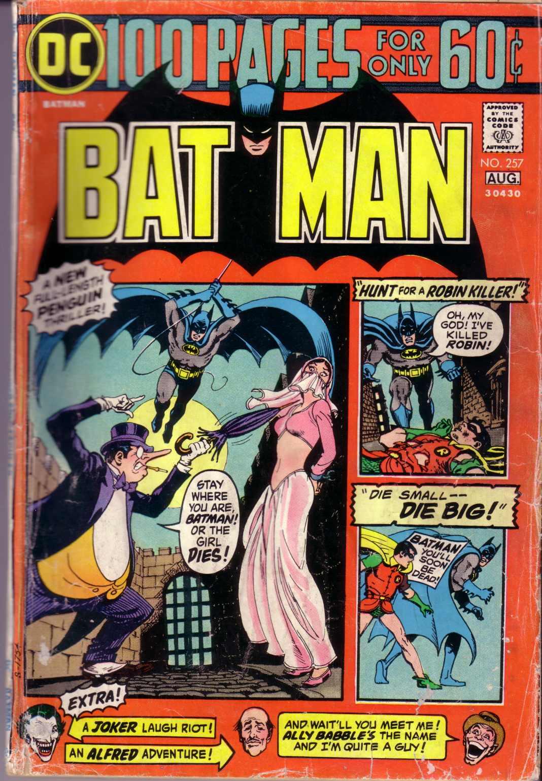 Batman (1940) 257 Page 1