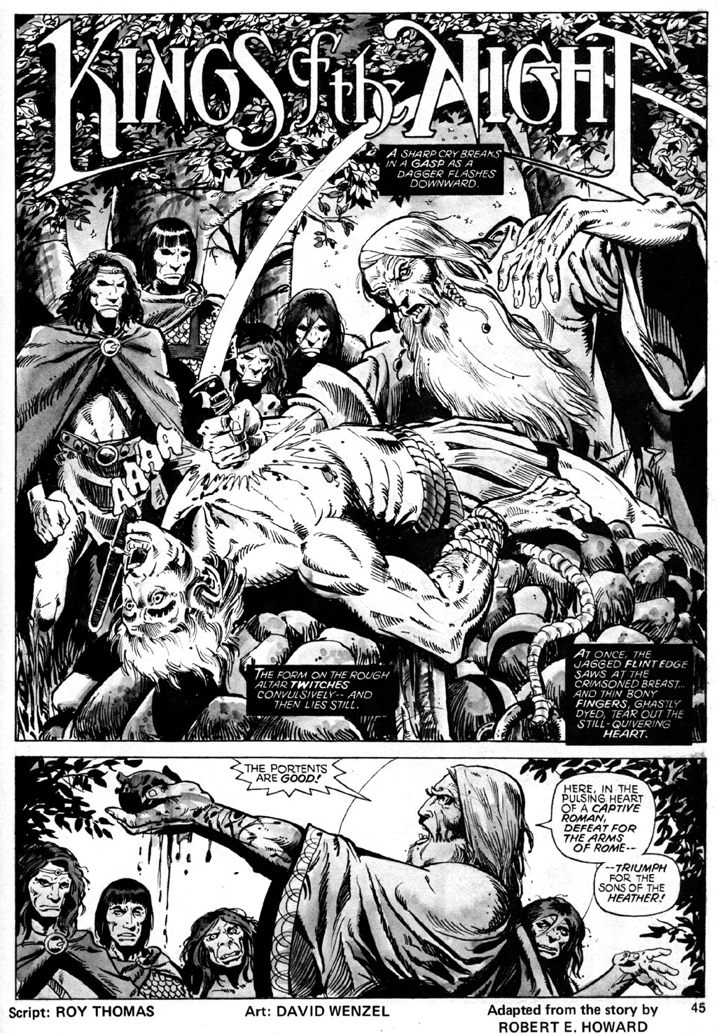 The Savage Sword Of Conan Issue #42 #43 - English 45