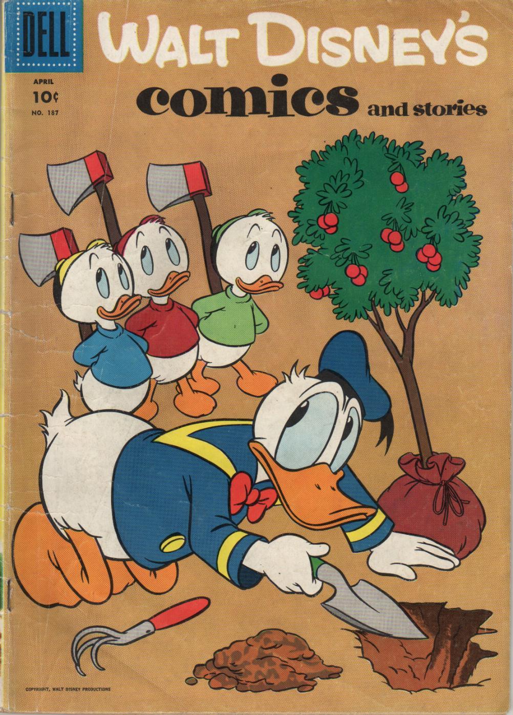 Walt Disneys Comics and Stories 187 Page 1