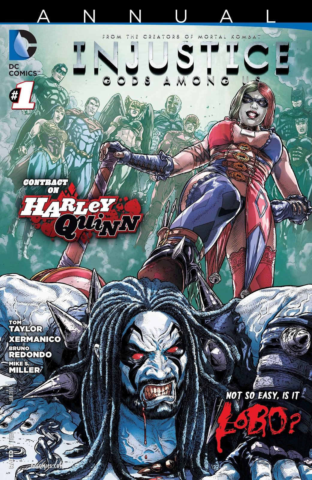 Injustice: Gods Among Us [I] _Annual 1 #1 - English 1