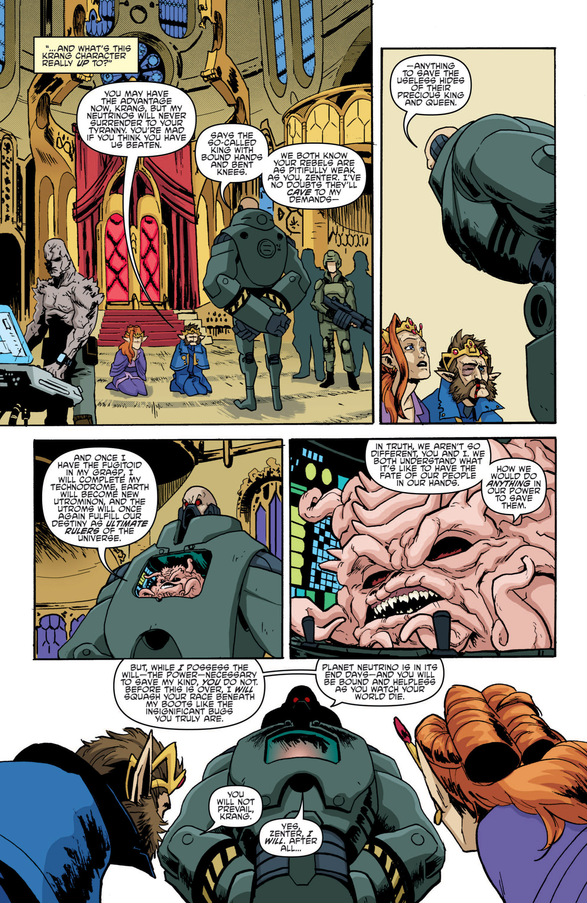 Read online Teenage Mutant Ninja Turtles (2011) comic -  Issue #19 - 12