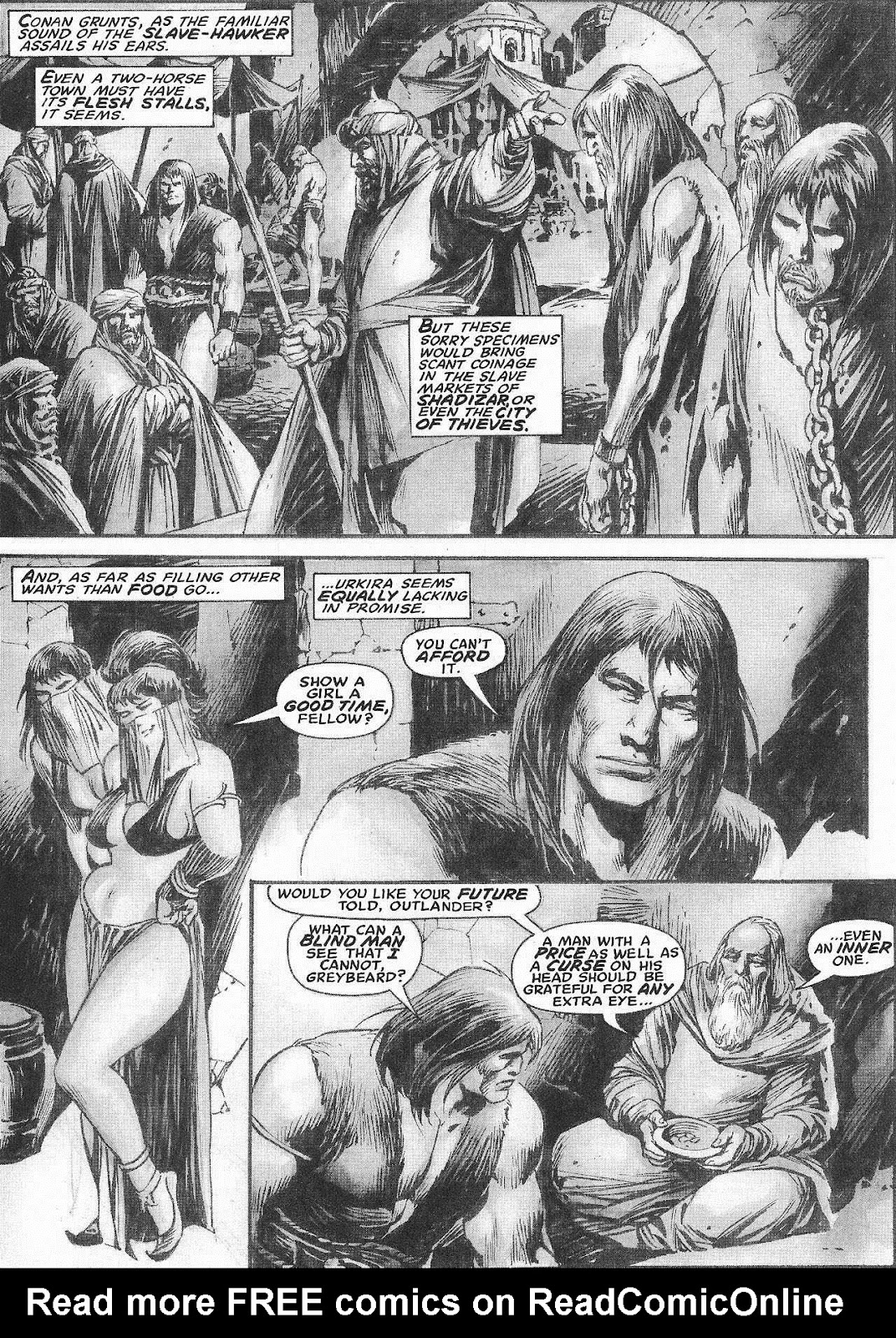 The Savage Sword Of Conan Issue #207 #208 - English 26