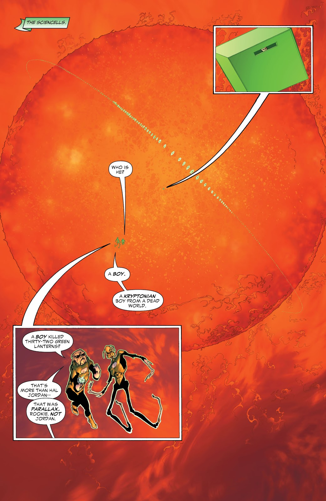 Green Lantern: The Sinestro Corps War Full #1 - English 24