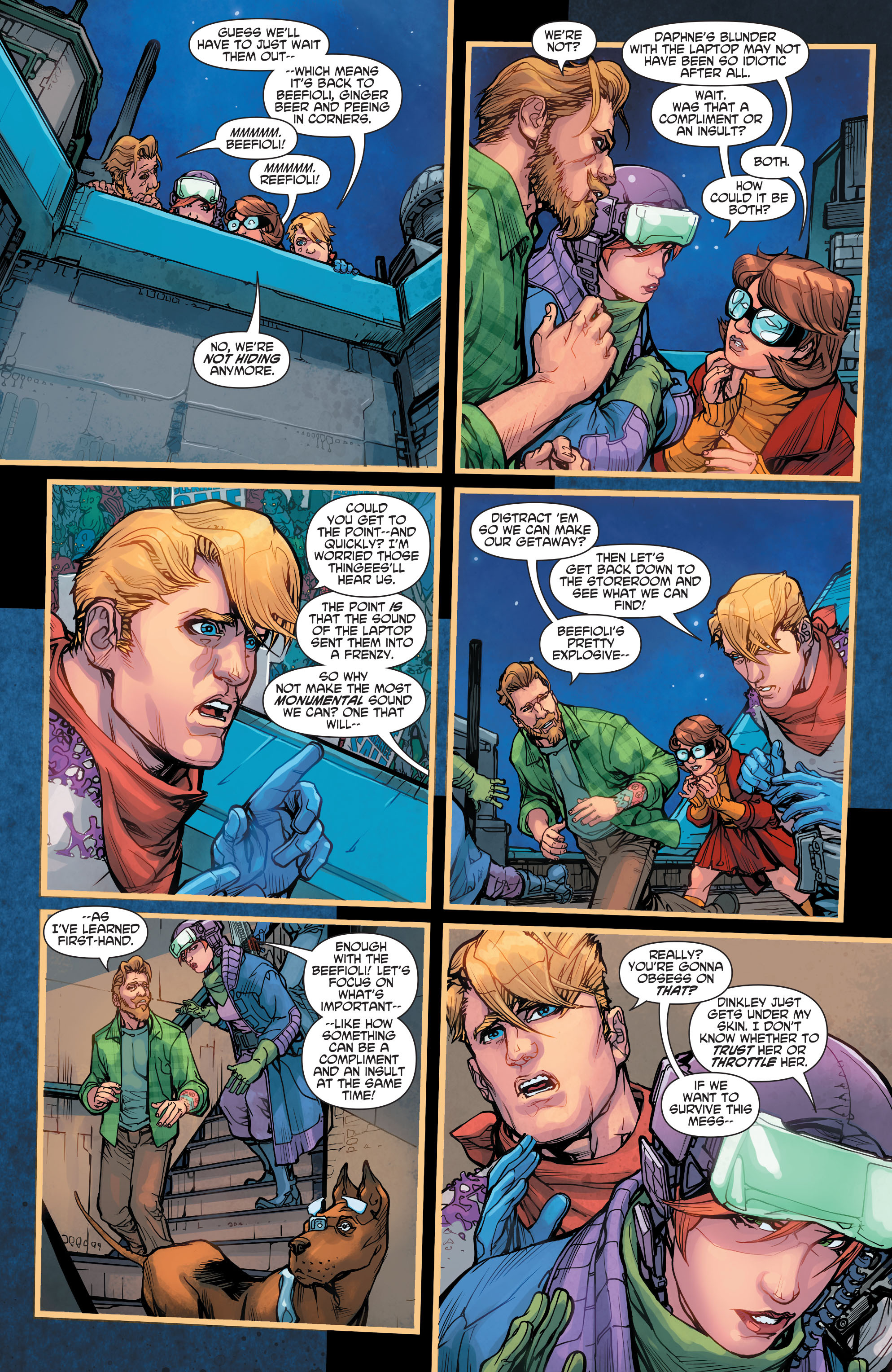 Read online Scooby Apocalypse comic -  Issue #7 - 10