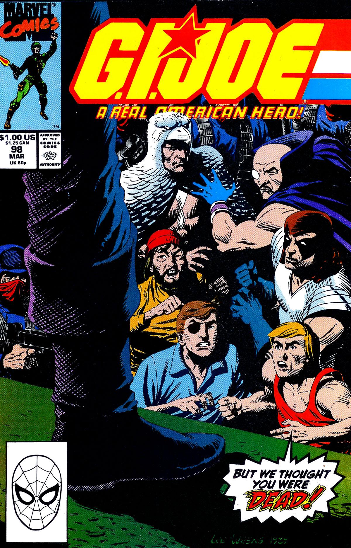 G.I. Joe: A Real American Hero 98 Page 1