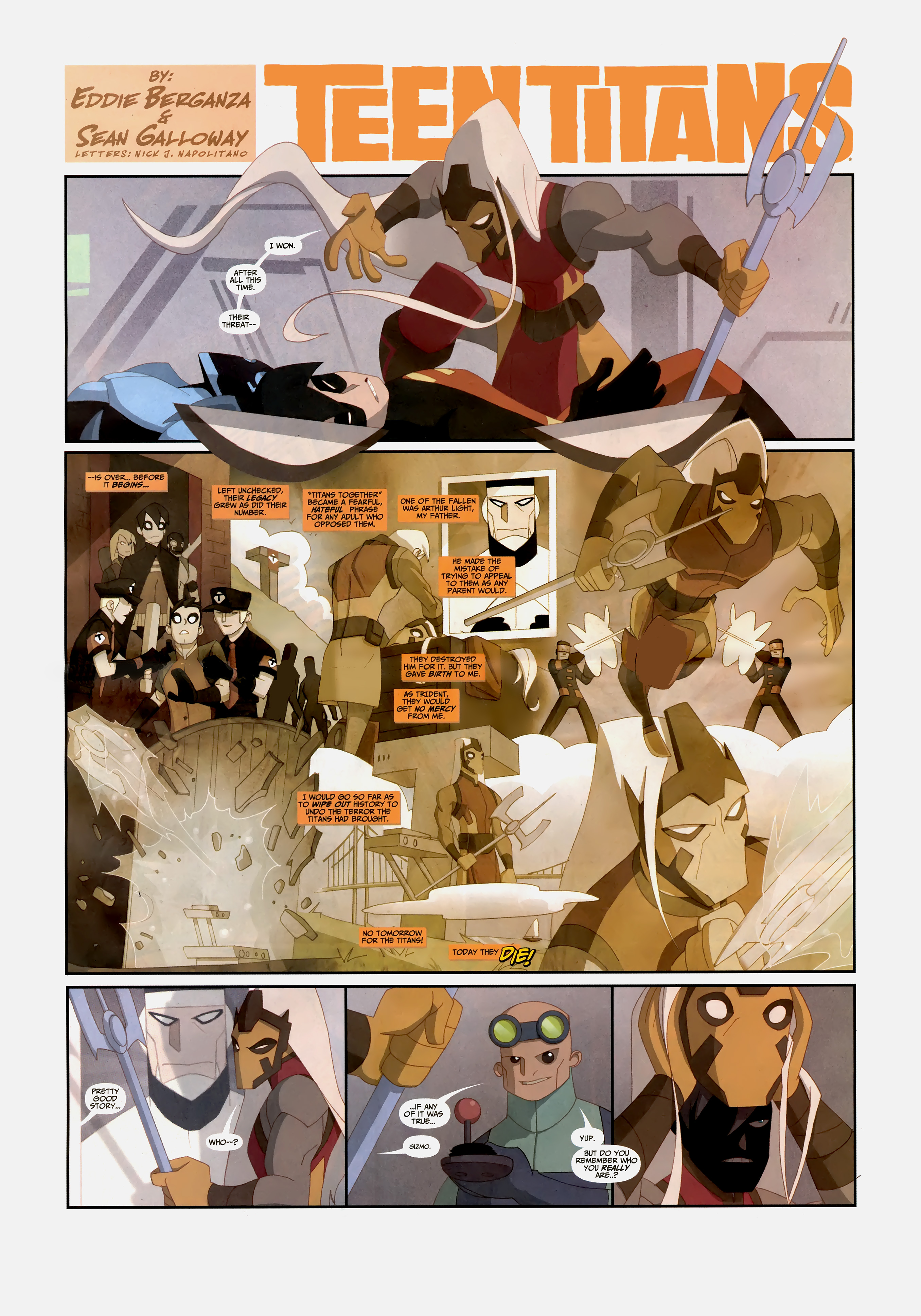 Read online Wednesday Comics comic -  Issue #10 - 9