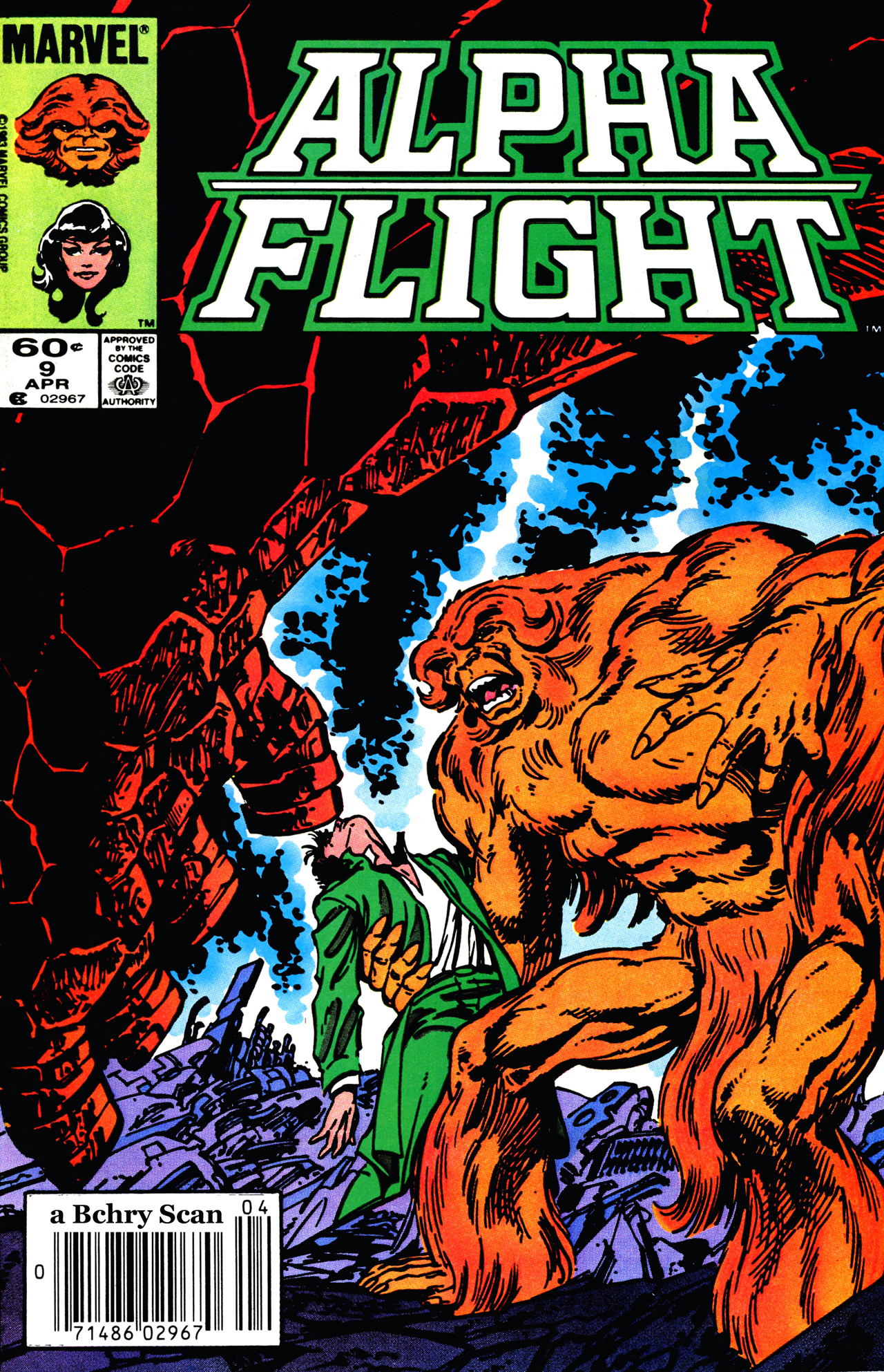 Alpha Flight (1983) 9 Page 1