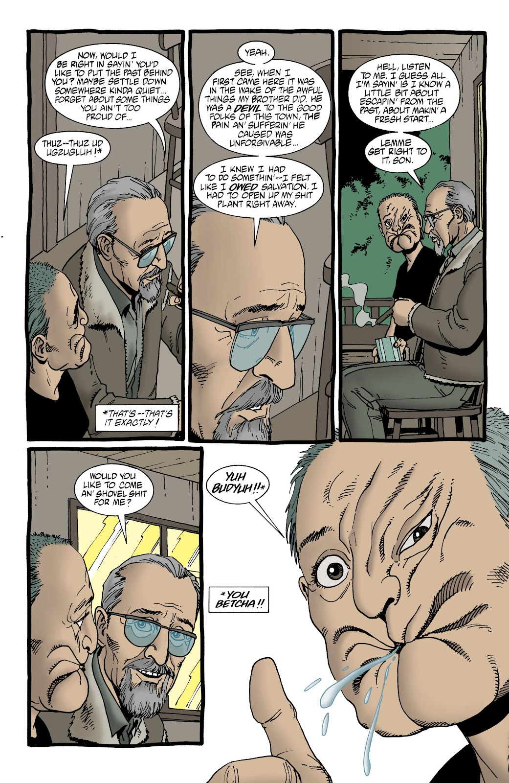 Preacher Issue #62 #71 - English 19