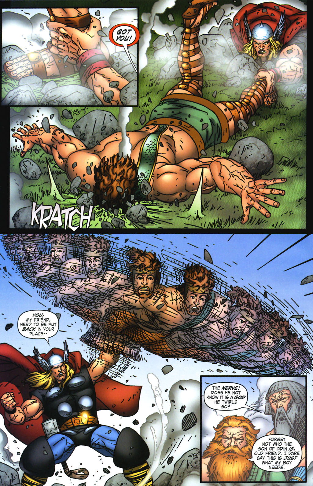 Read online Thor: Blood Oath comic -  Issue #3 - 14