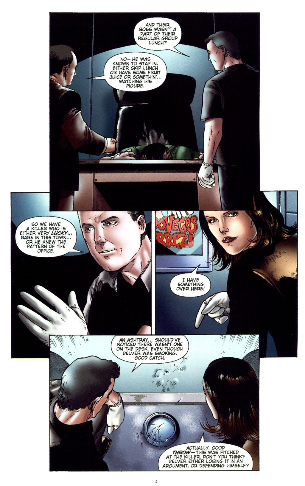 Read online CSI: Crime Scene Investigation: Bad Rap comic -  Issue #5 - 7