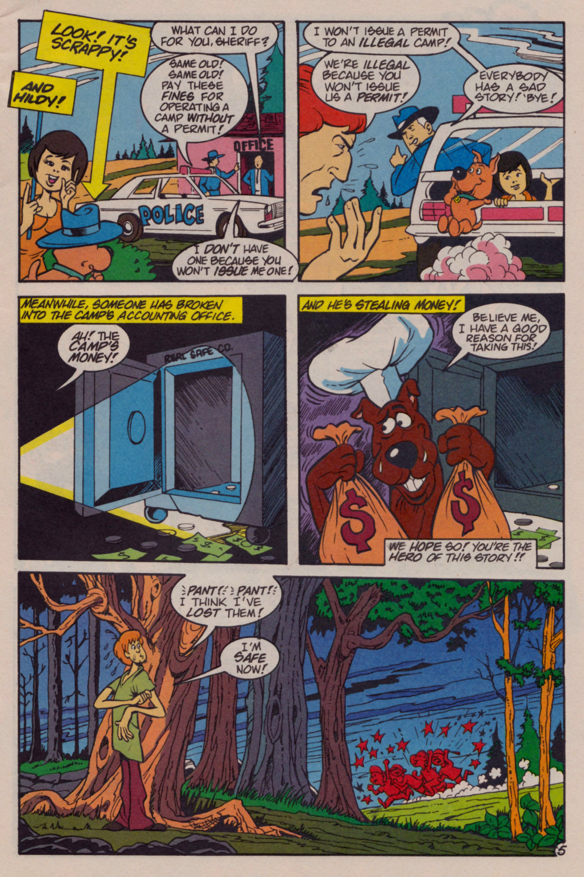 Read online Scooby-Doo (1995) comic -  Issue #11 - 6