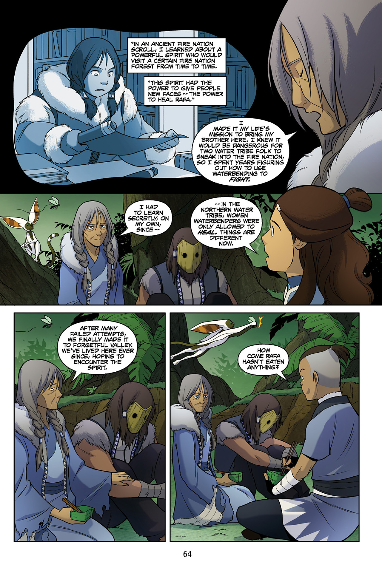 Read online Nickelodeon Avatar: The Last Airbender - The Search comic -  Issue # Part 2 - 65