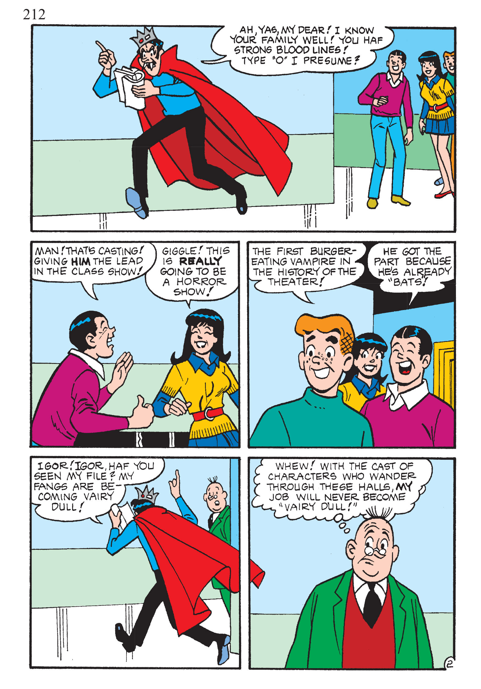 Read online The Best of Archie Comics comic -  Issue # TPB 2 (Part 1) - 214