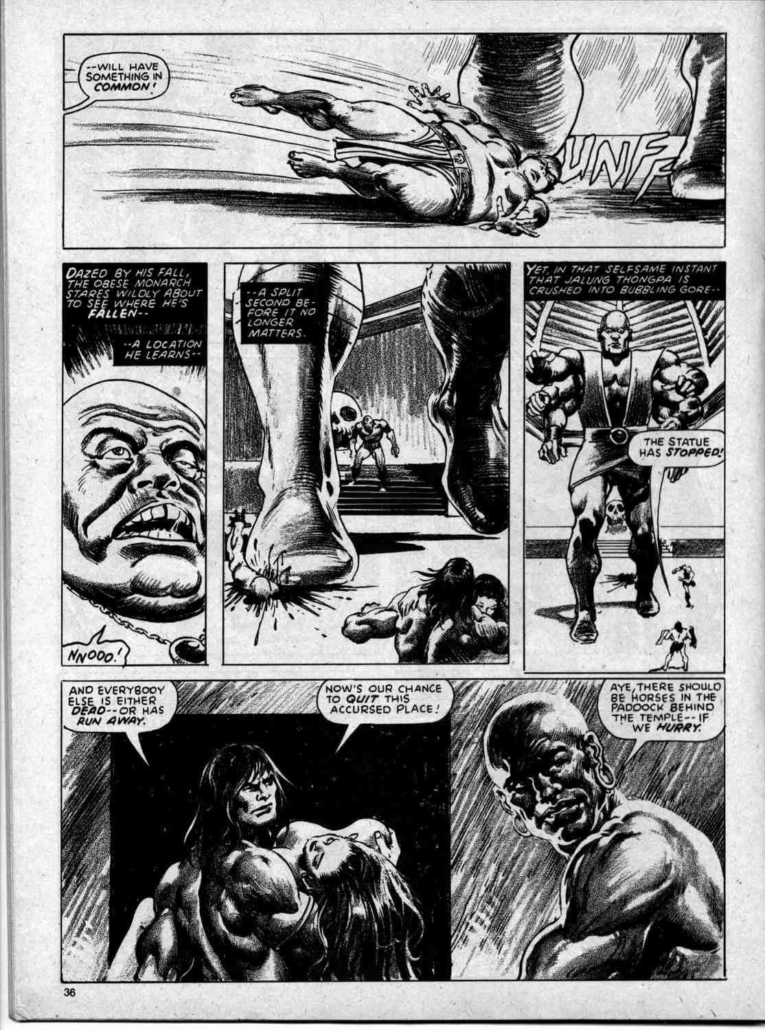 The Savage Sword Of Conan Issue #59 #60 - English 36