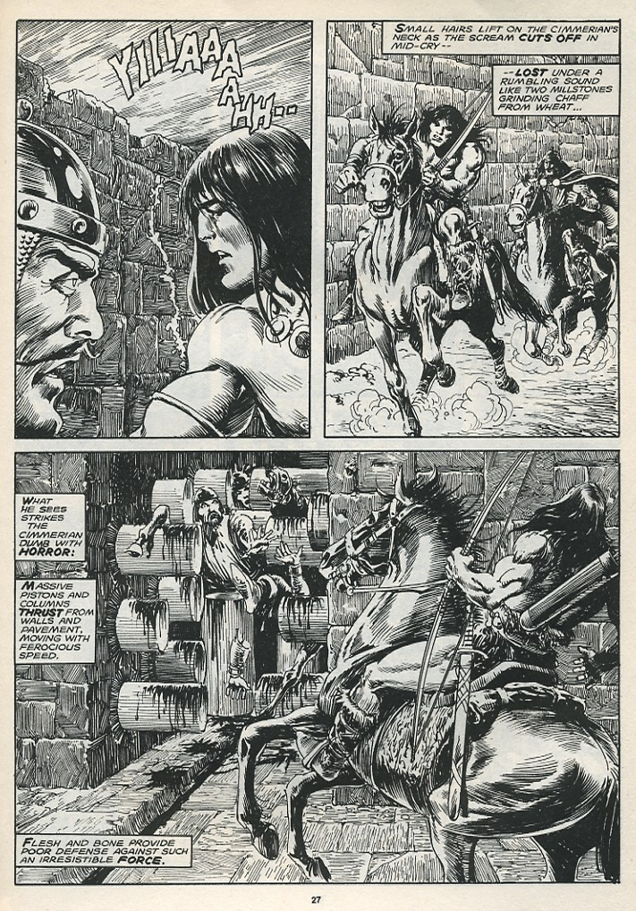 The Savage Sword Of Conan Issue #174 #175 - English 29