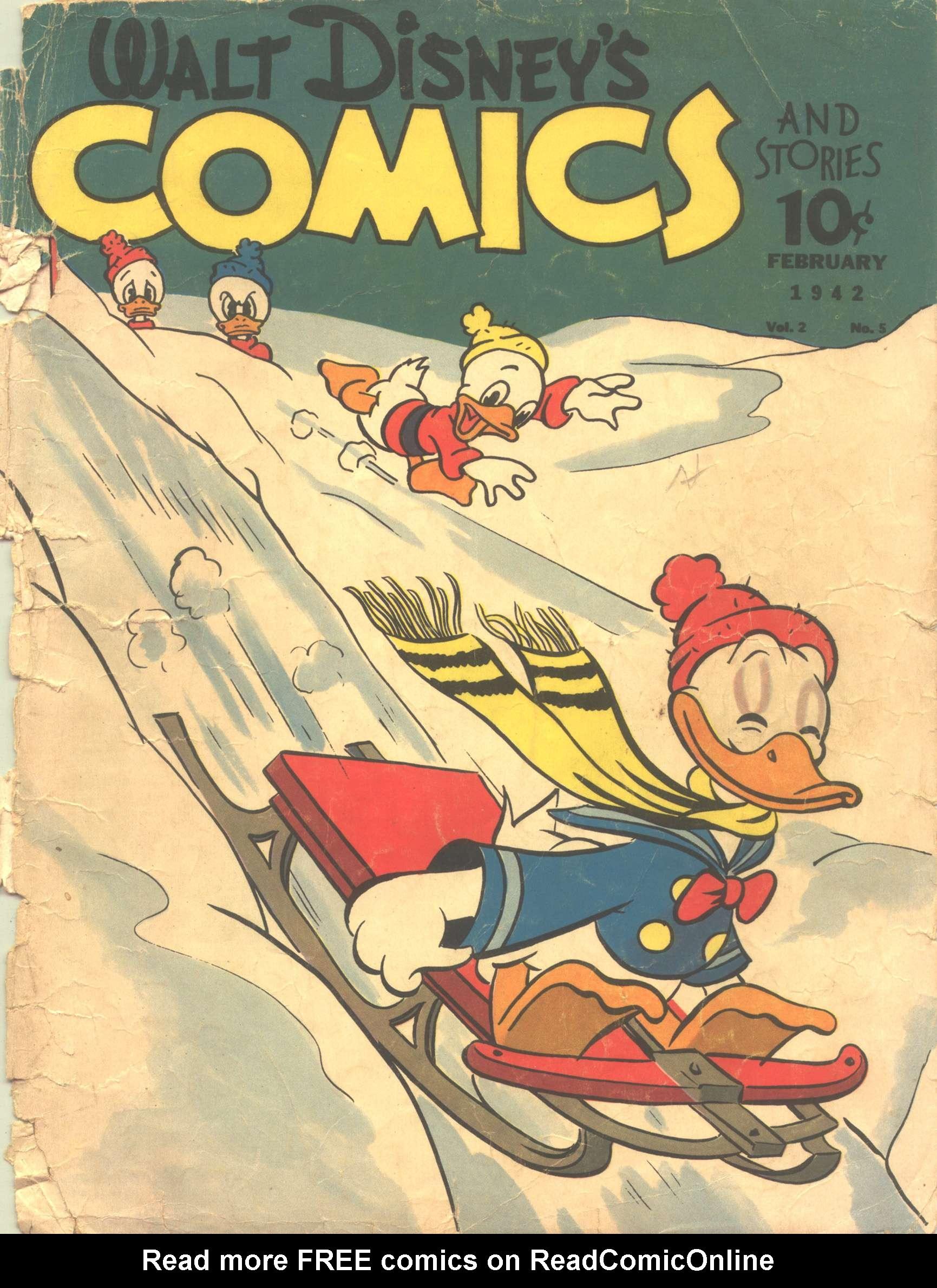Walt Disneys Comics and Stories 17 Page 1