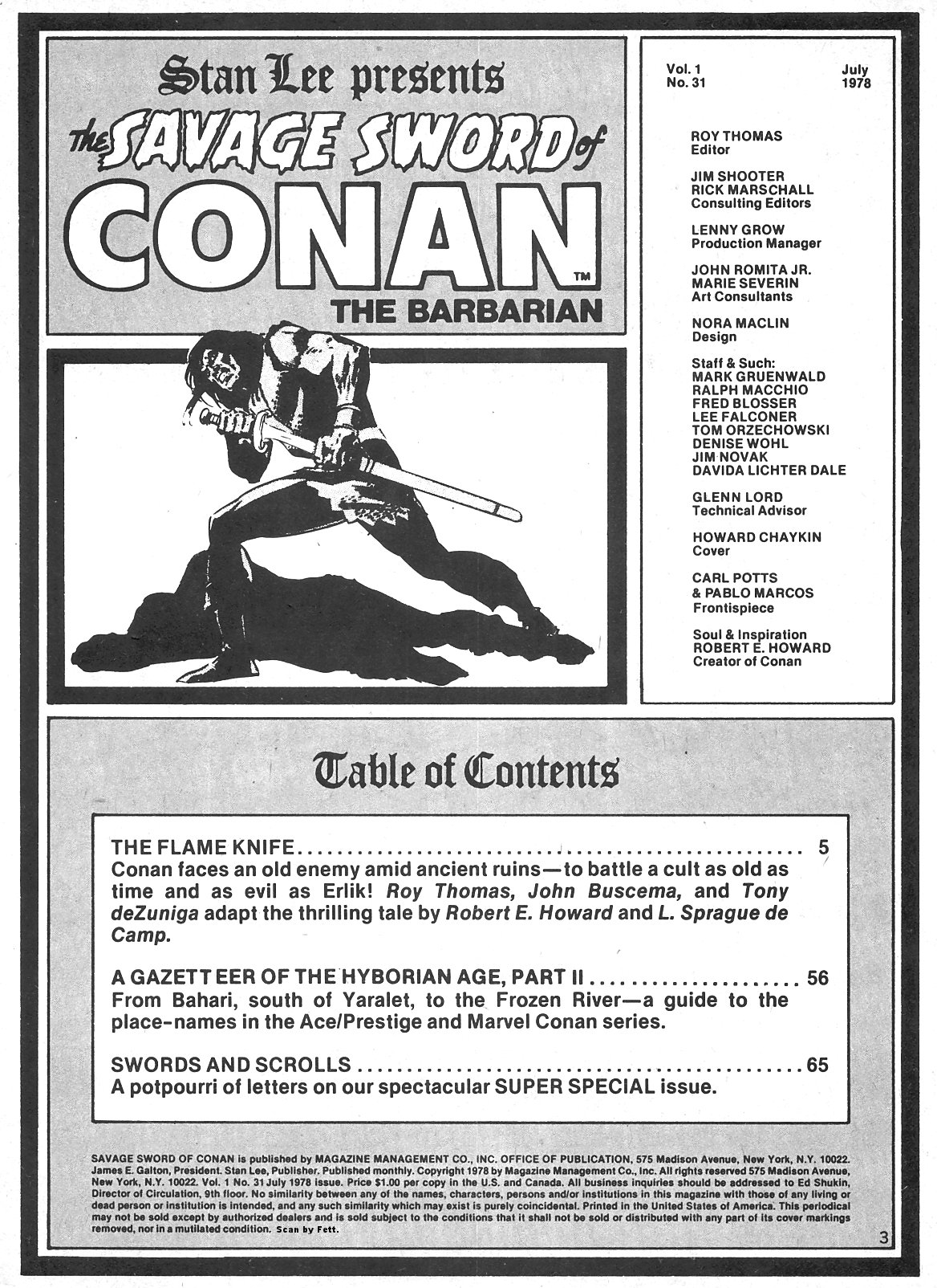 Conan Is #205 - English 3