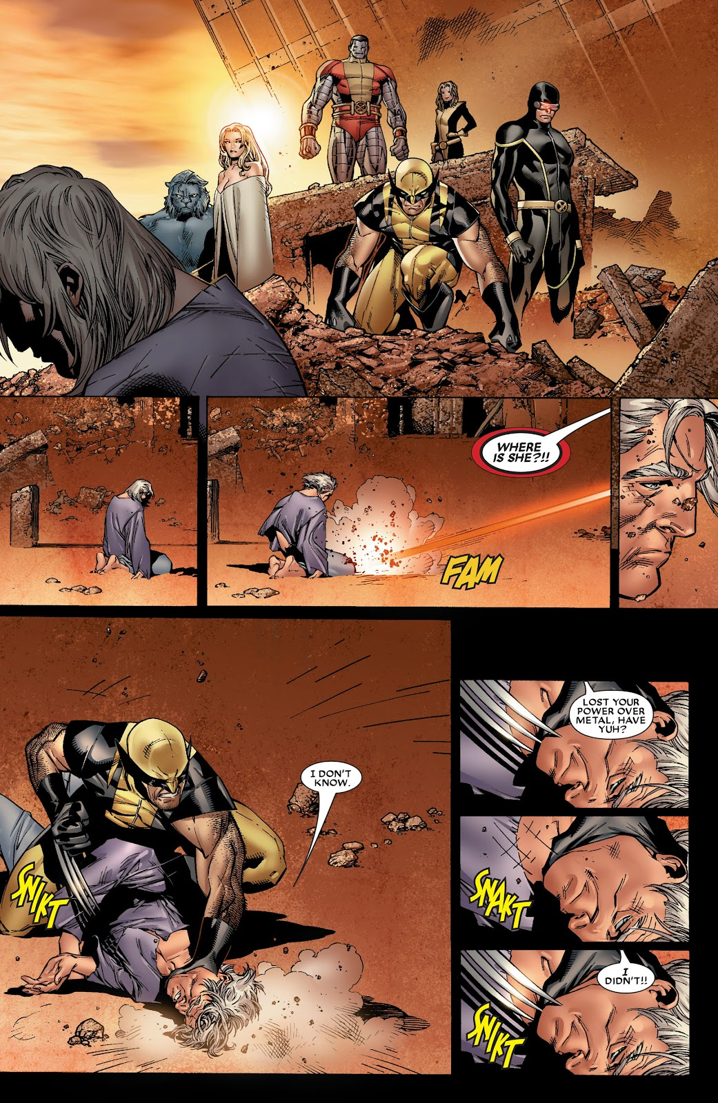 House of M (2005) Issue #8 #8 - English 22