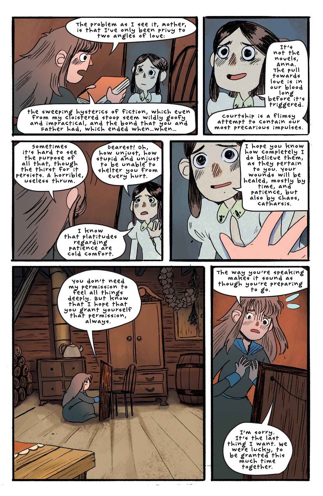 Over the Garden Wall (2016) Issue #3 #3 - English 23