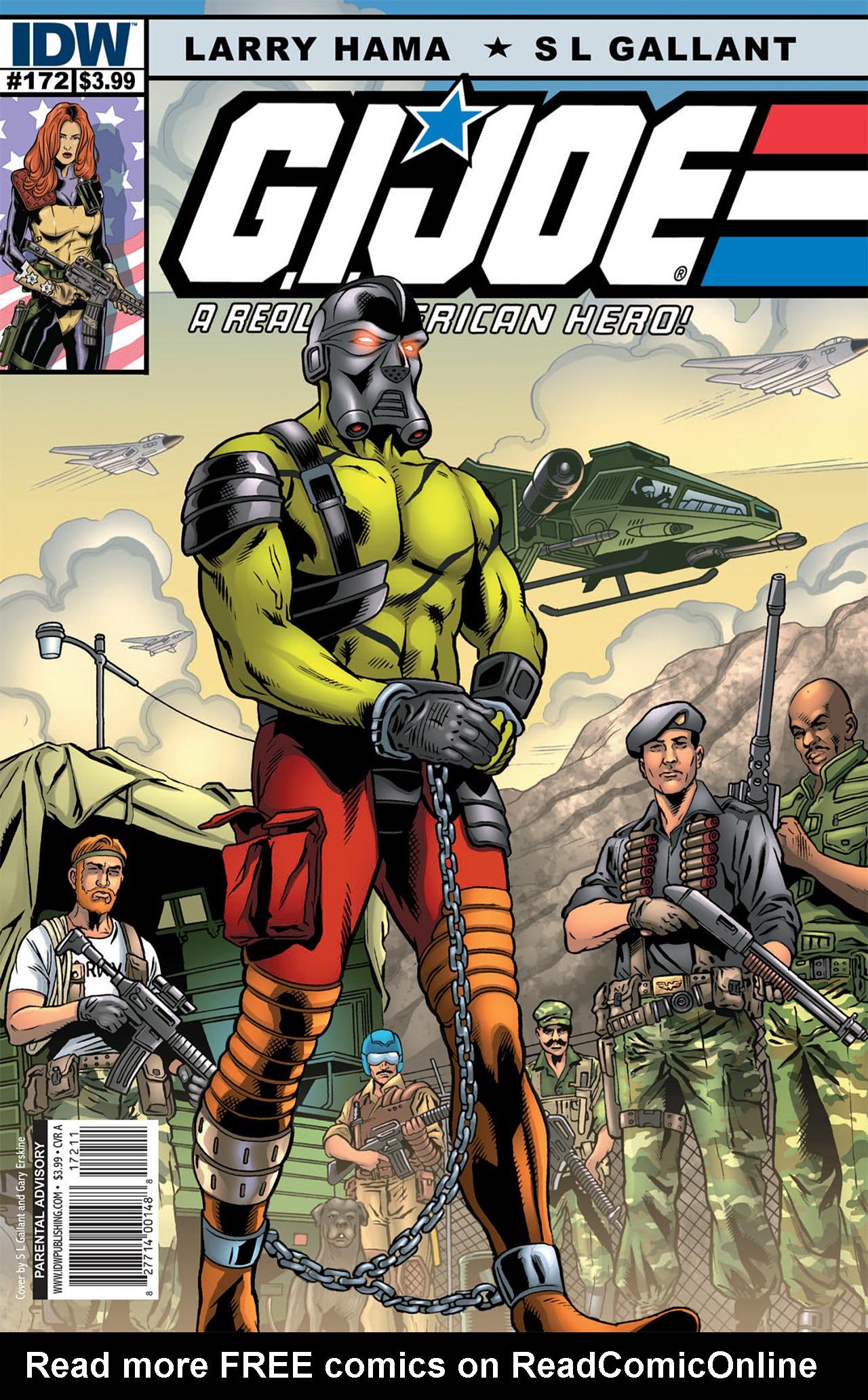 G.I. Joe: A Real American Hero 172 Page 1