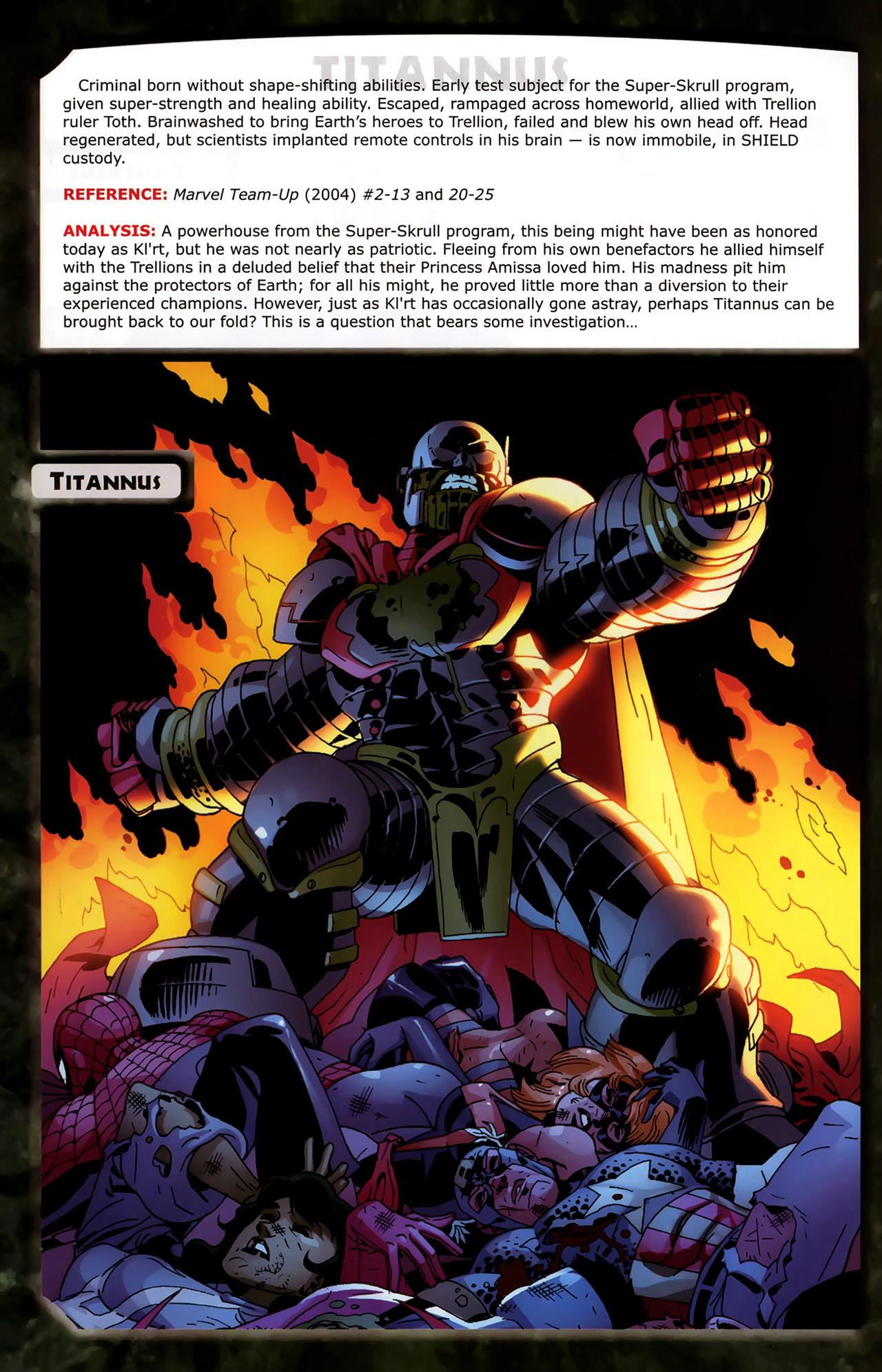 Read online Skrulls! comic -  Issue # Full - 52