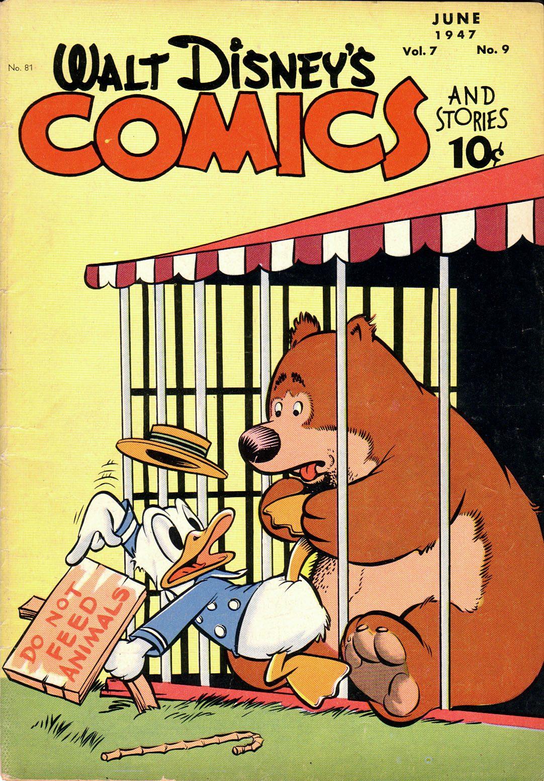 Walt Disneys Comics and Stories 81 Page 1
