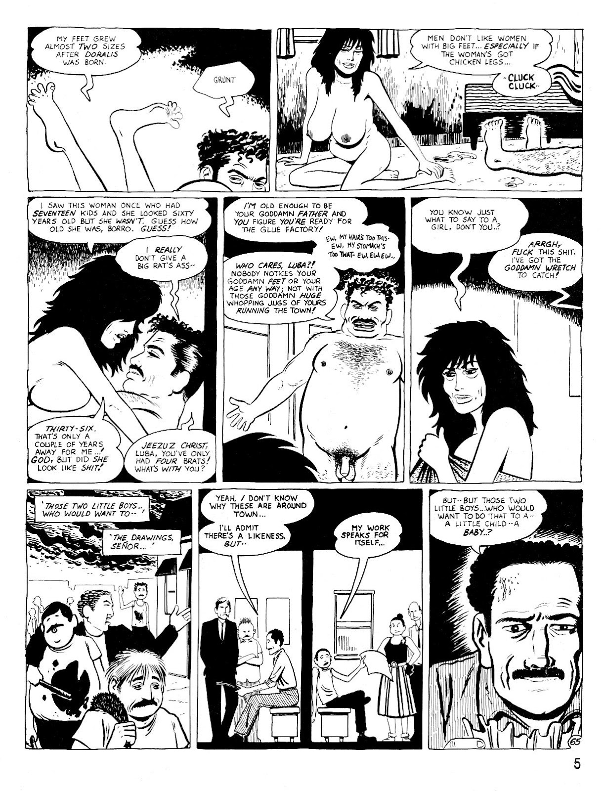 Love and Rockets (1982) Issue #25 #24 - English 9