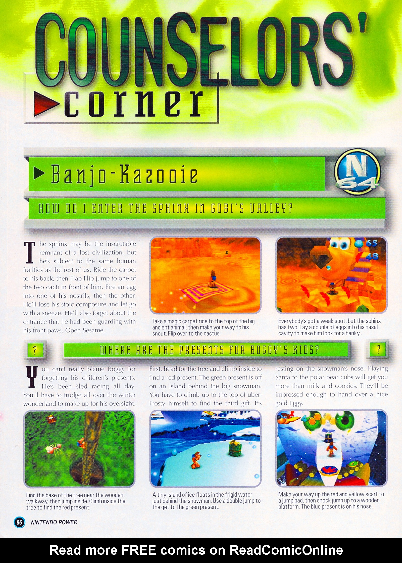 Nintendo Power #127 #127 - English 110