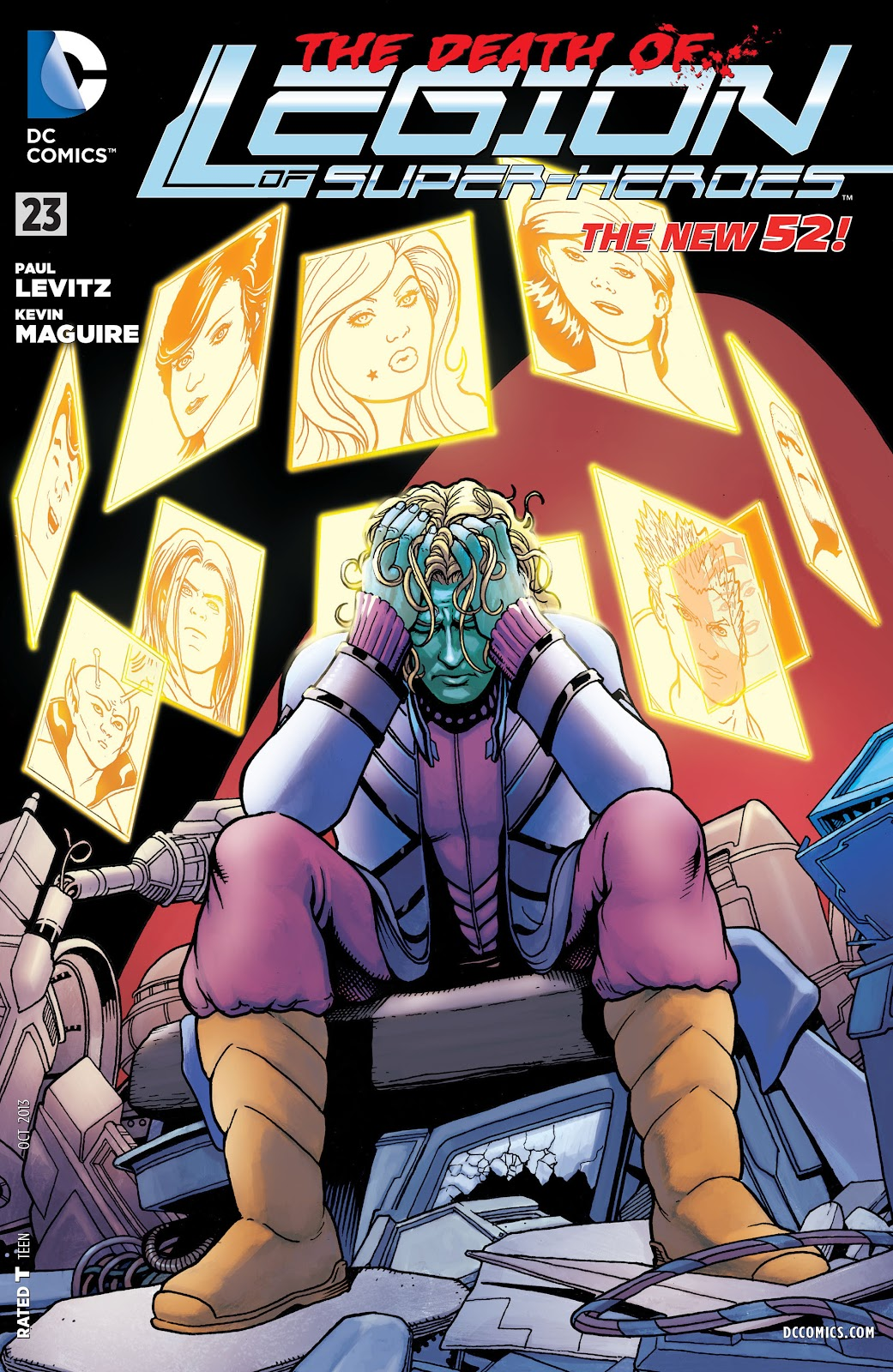 Legion of Super-Heroes (2011) Issue #23 #24 - English 1