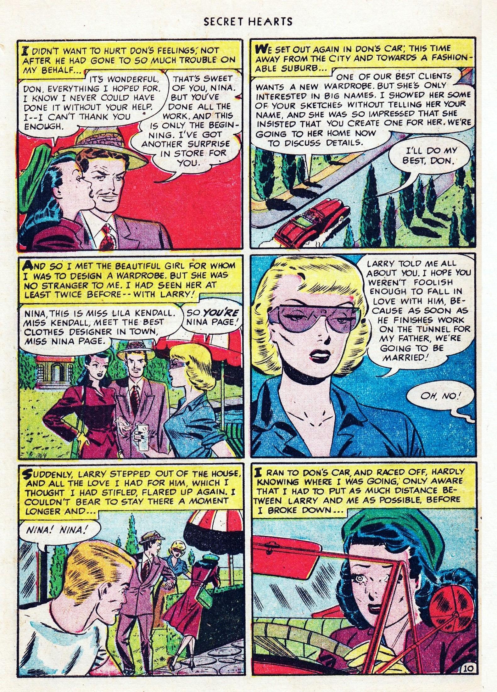 Read online Secret Hearts comic -  Issue #1 - 46