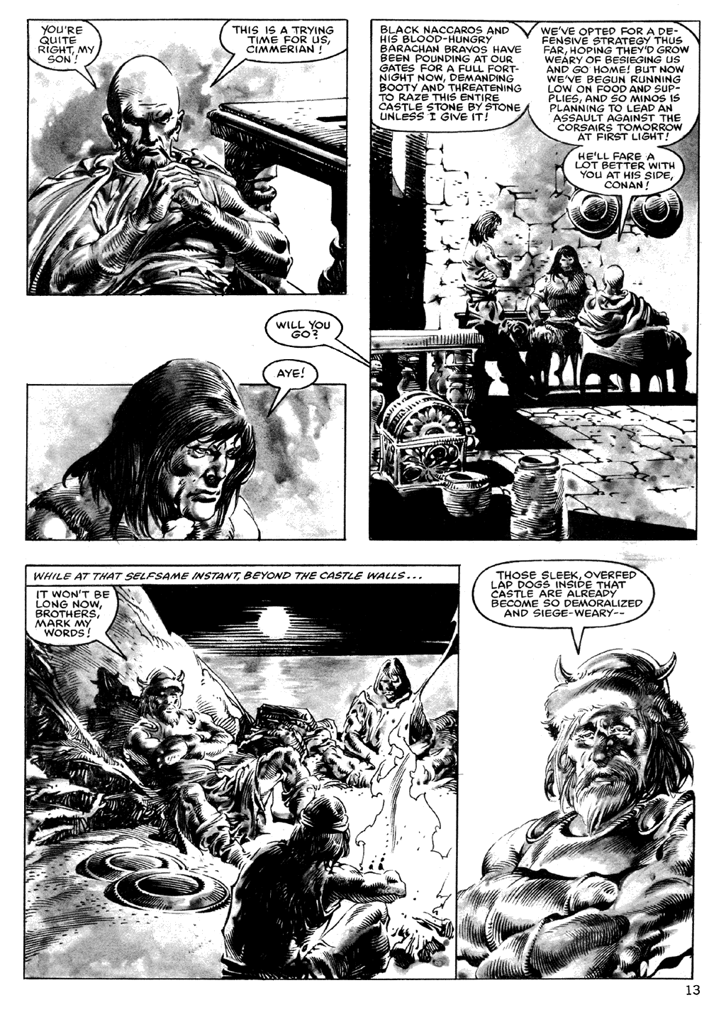 The Savage Sword Of Conan Issue #101 #102 - English 13
