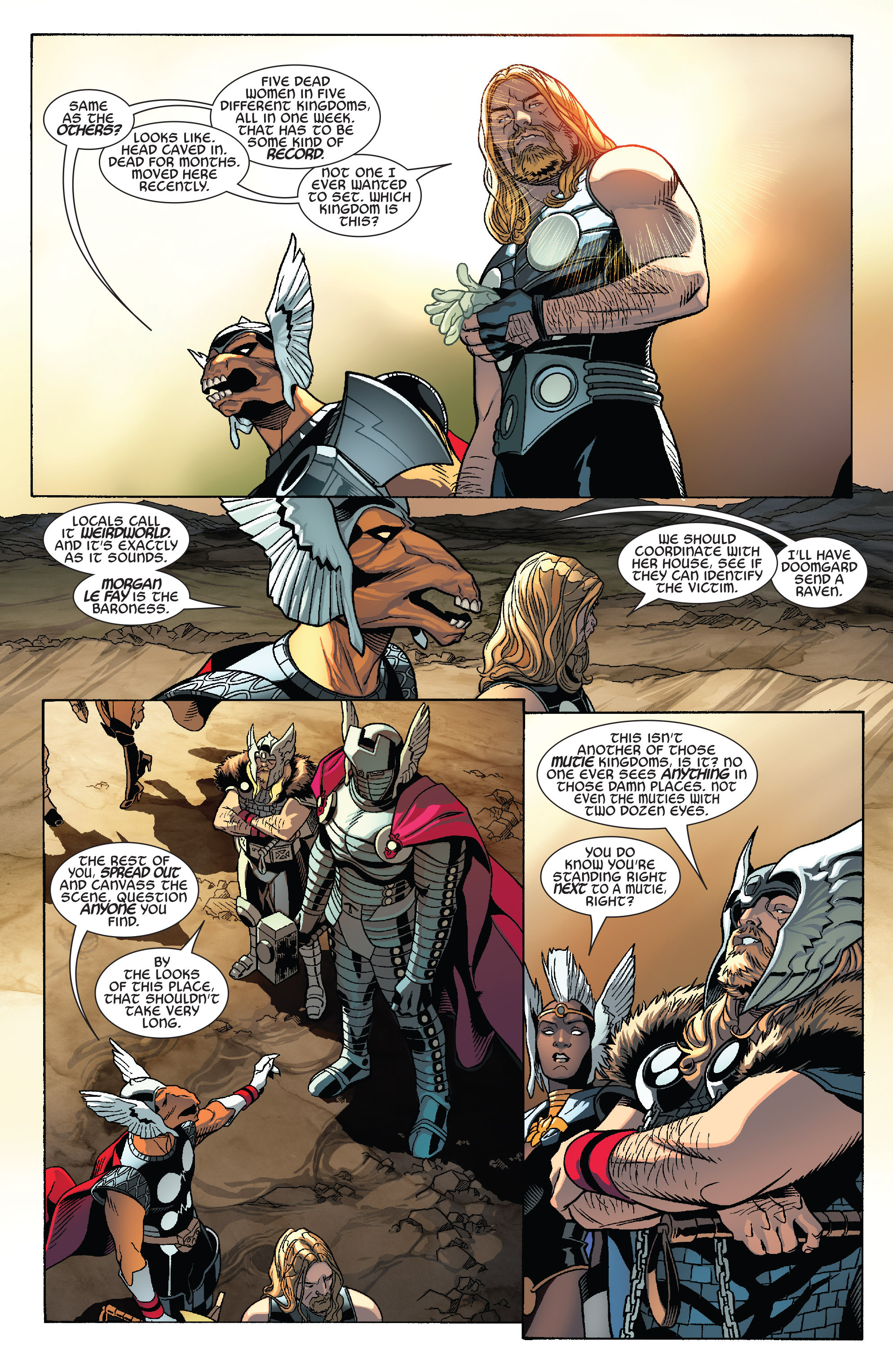 Thors #1 #4 - English 6