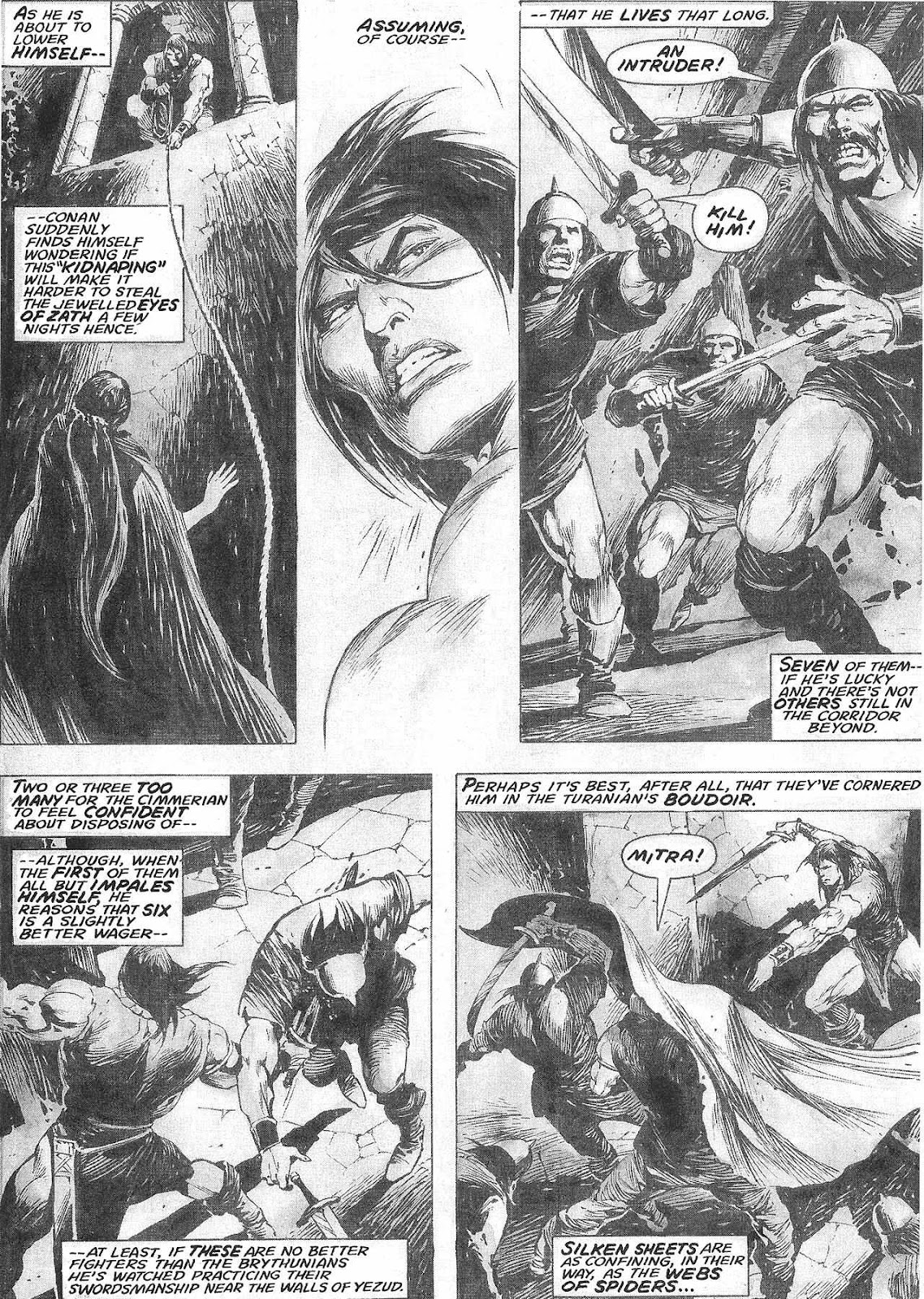 The Savage Sword Of Conan Issue #209 #210 - English 32