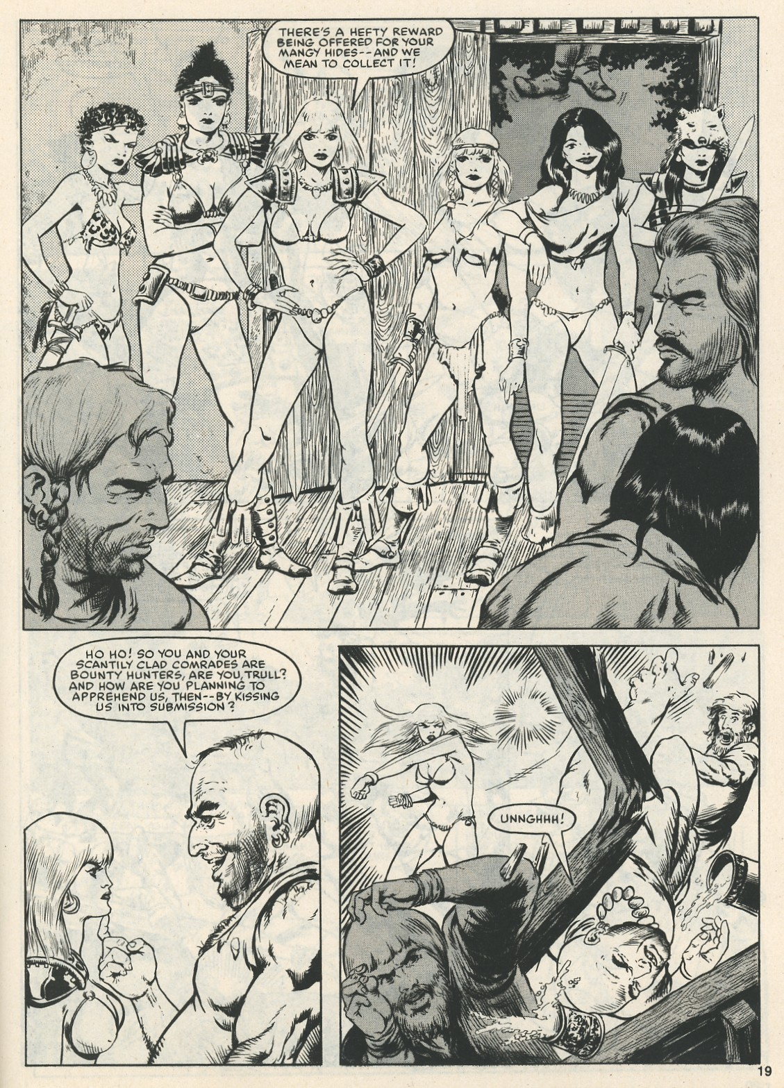 The Savage Sword Of Conan Issue #111 #112 - English 19