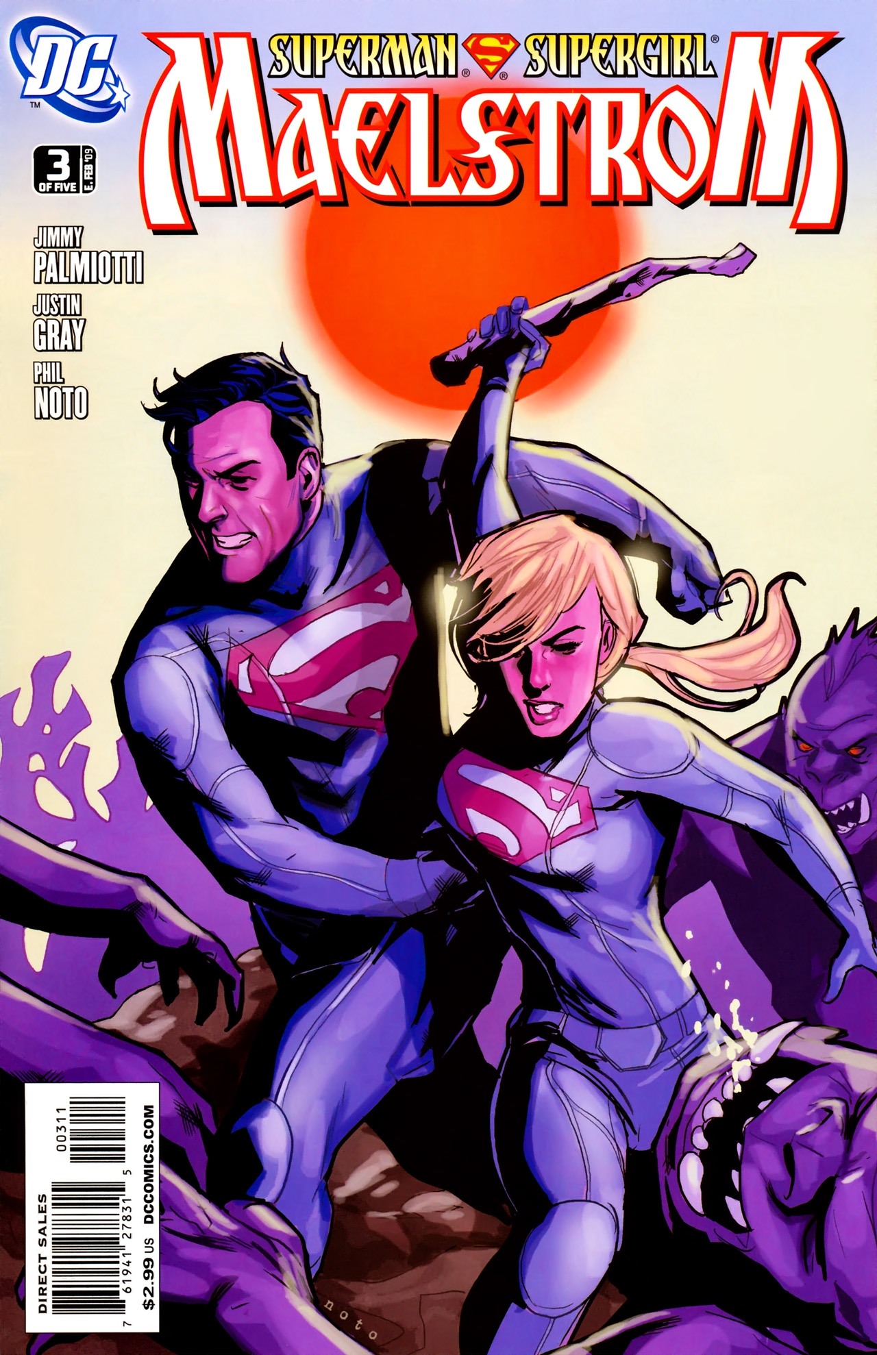 Read online Superman/Supergirl: Maelstrom comic -  Issue #3 - 1